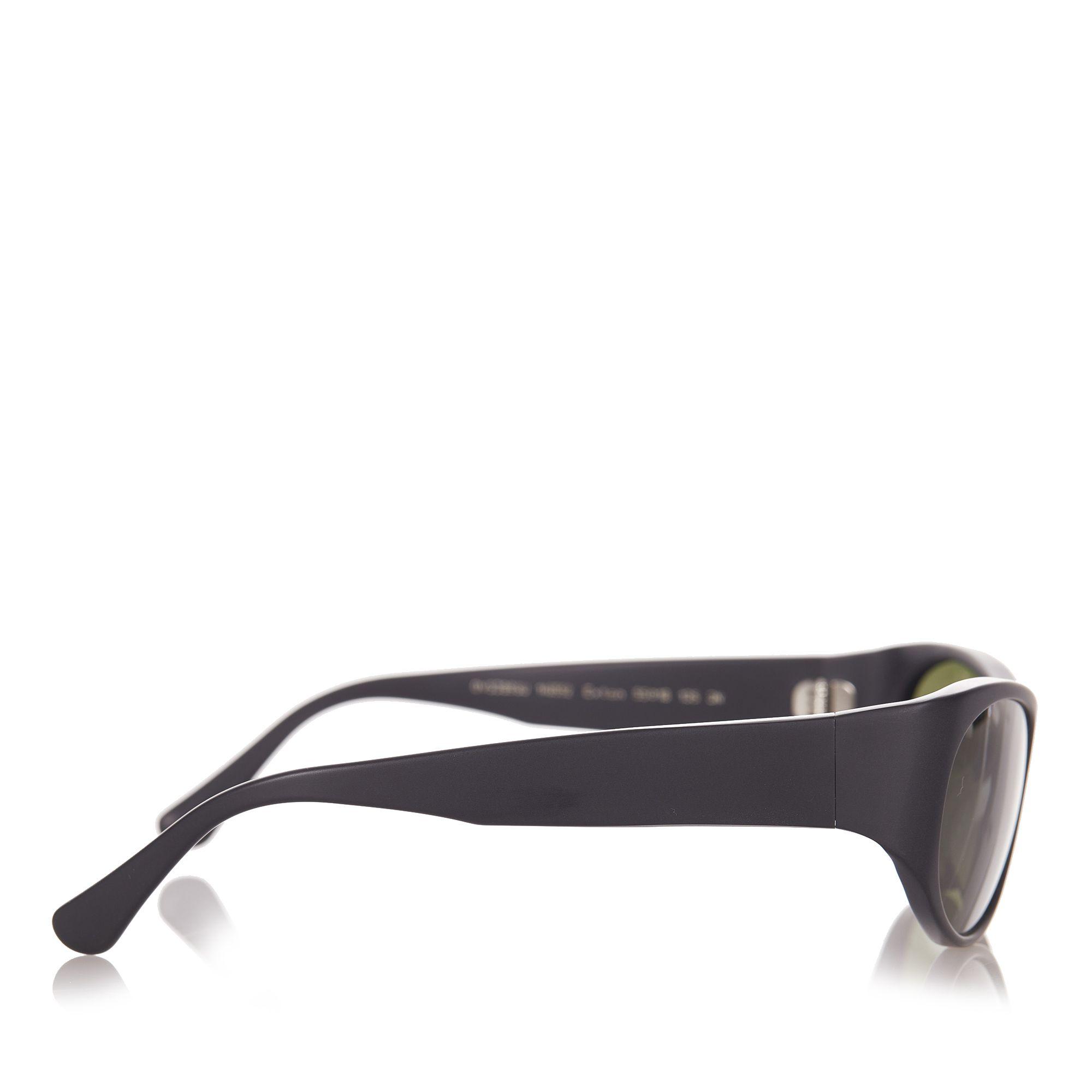 Vintage Oliver Peoples Exton Tinted Sunglasses Black