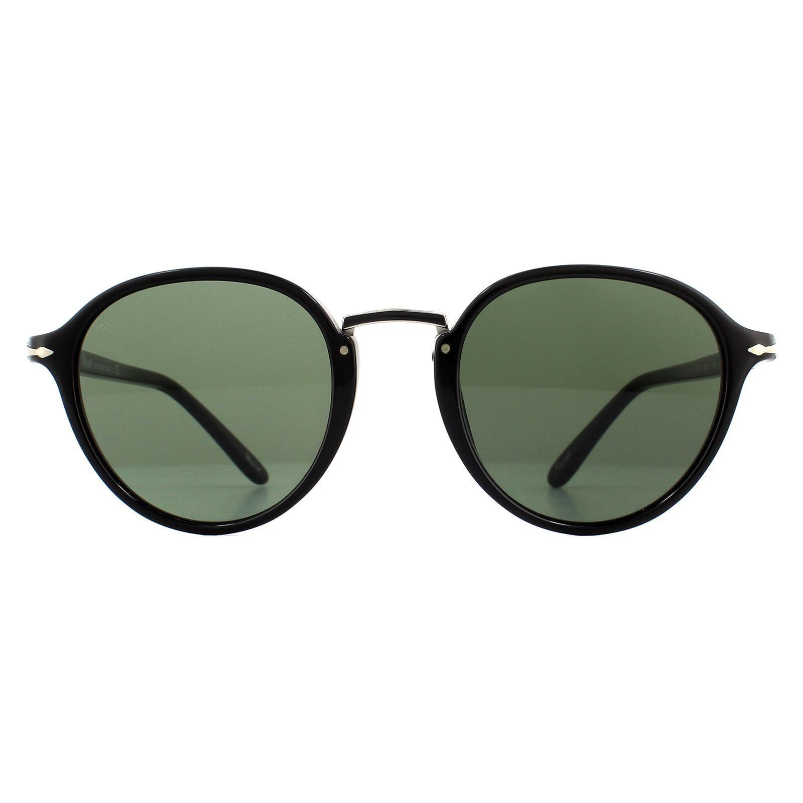 Persol Sunglasses PO3184S 95/31 Black Green