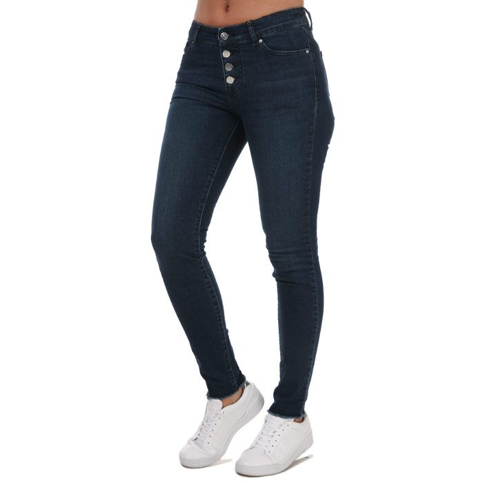 Women's Armani J27 Super Skinny Jeans in Denim