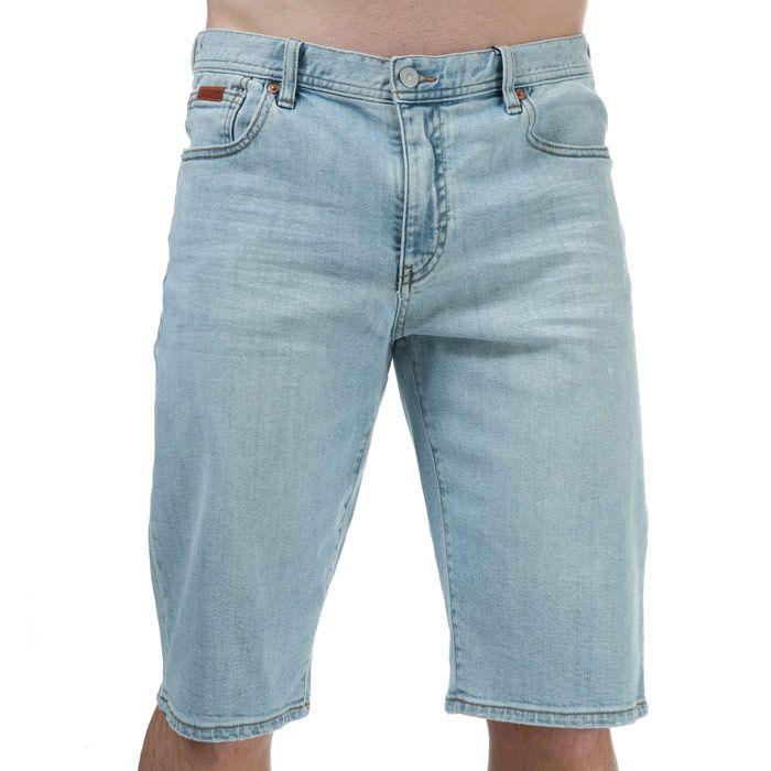 Men's Armani Bermuda Denim Shorts in Denim