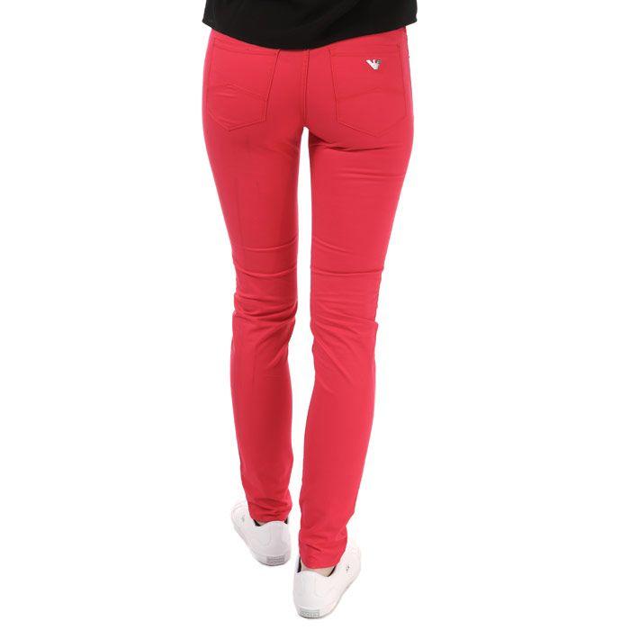 Women's Armani J28 Skinny Jeans in Pink