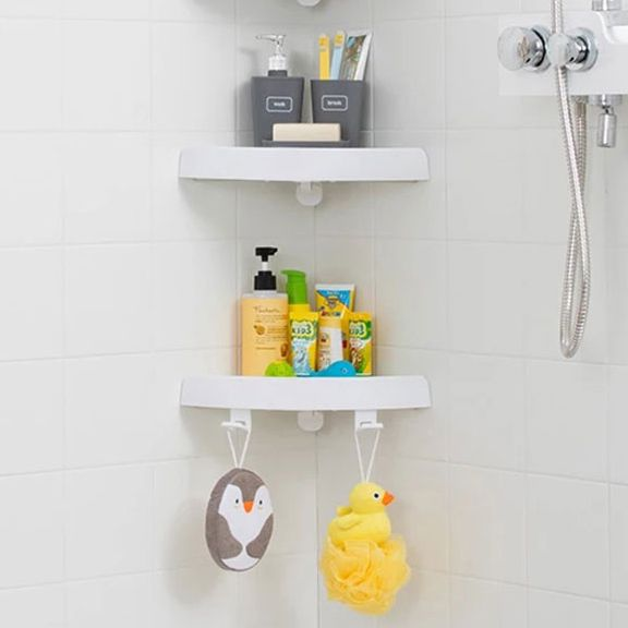 Corner shower shelf 2 Units