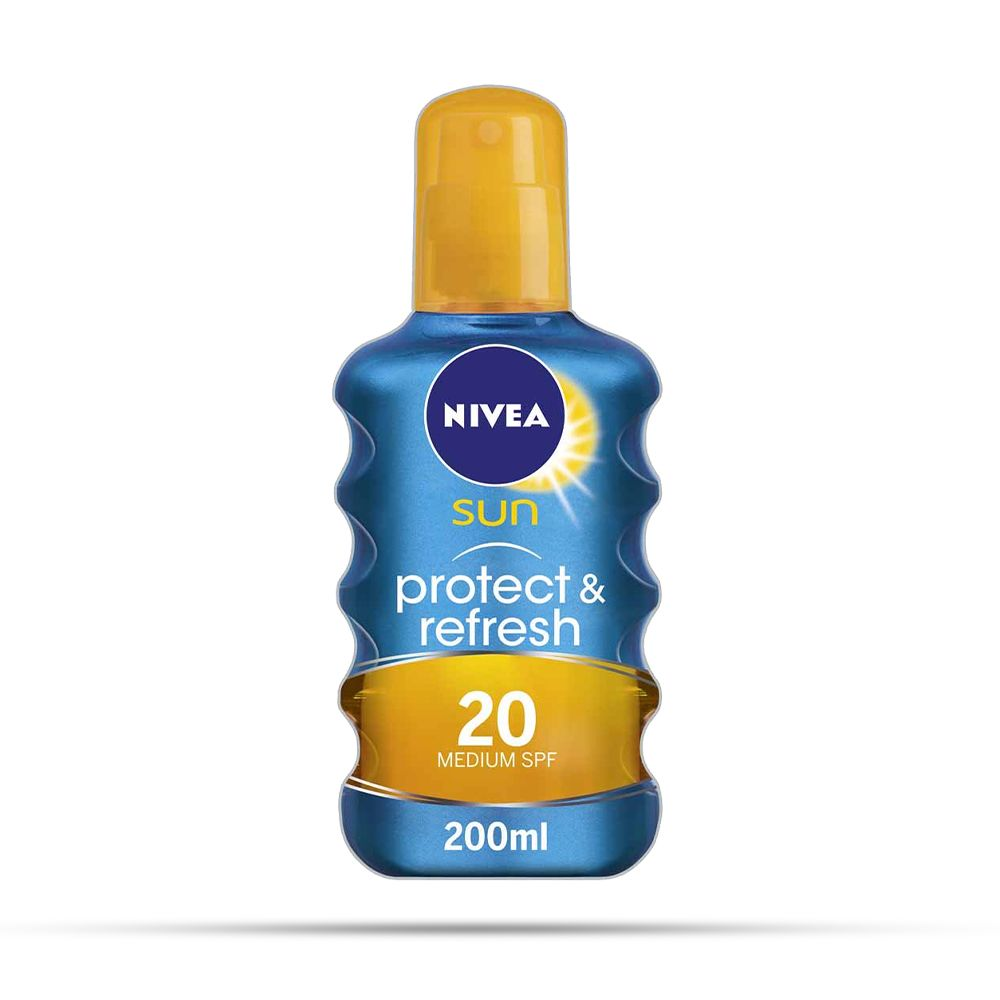 Nivea Sun Protect & Refresh Invisible Cooling Sun Spray SPF20 200ml