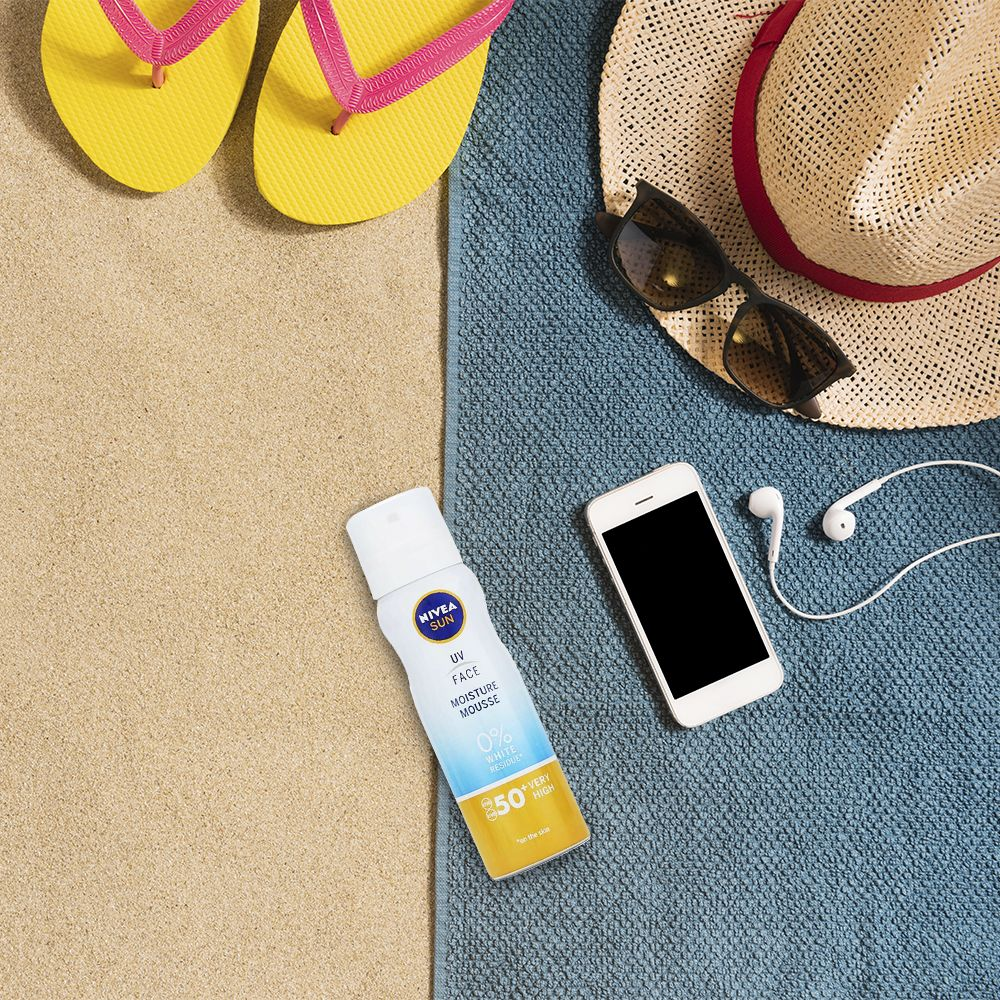 Nivea Sun UV Face Moisture Mousse SPF50 75ml