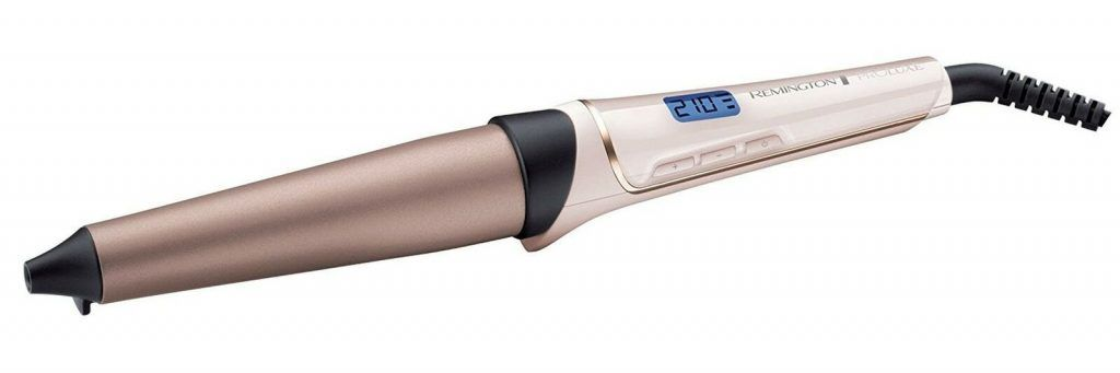 Remington Proluxe Large Barrel Hair Curling Wand with Pro+ Healthier Setting