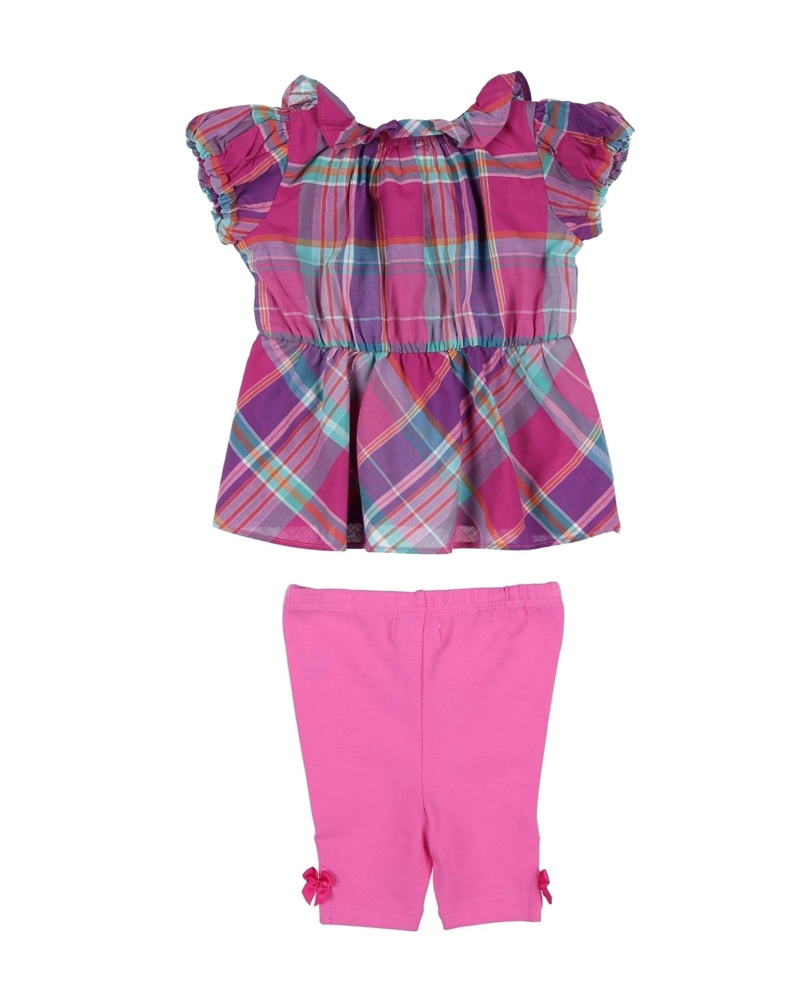 BODYSUITS & SETS Ralph Lauren Fuchsia Girl Cotton