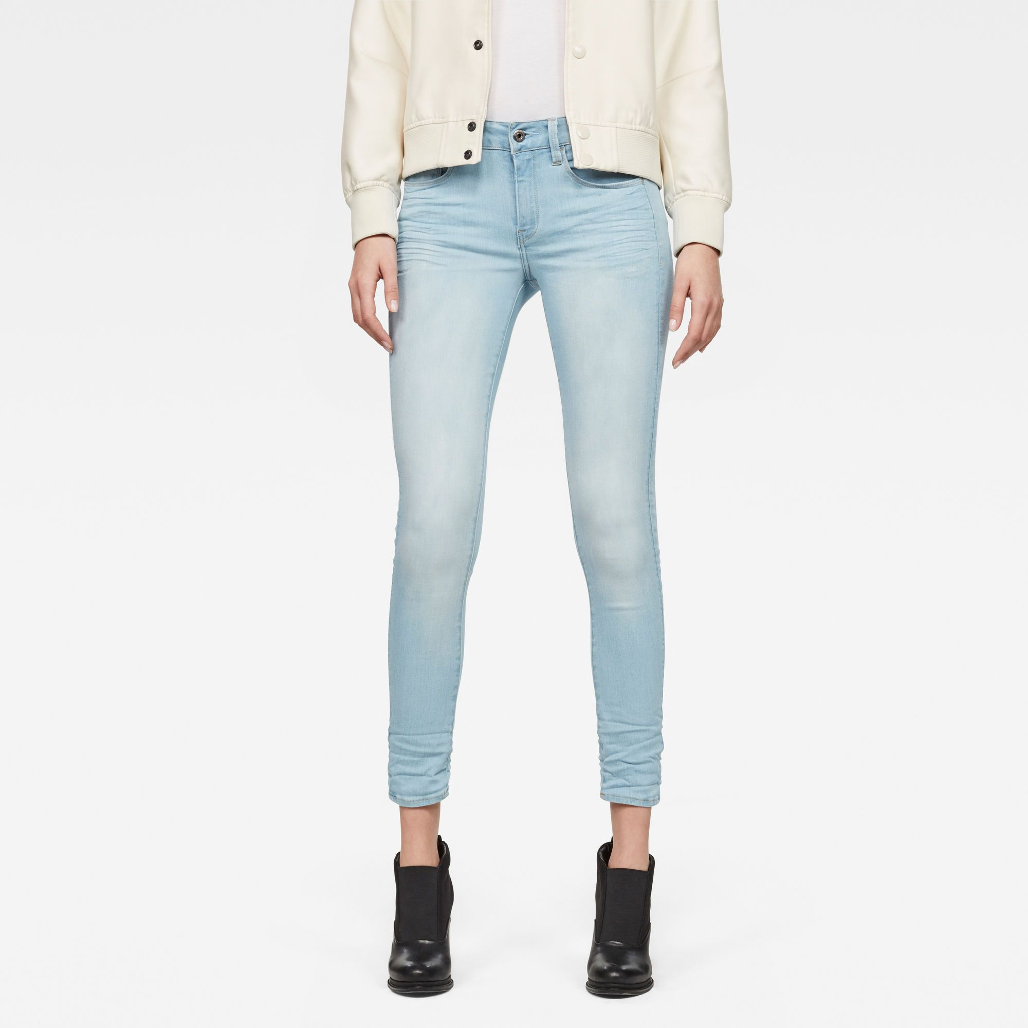 G-Star RAW 3301 D-Mid Skinny Ankle Jeans