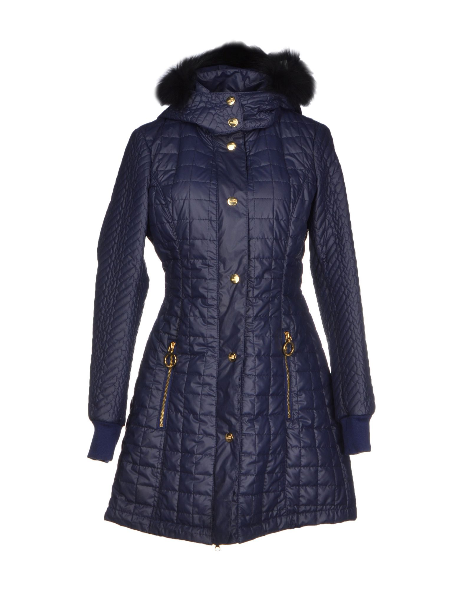 Love Moschino Dark Blue Techno Fabric Jacket