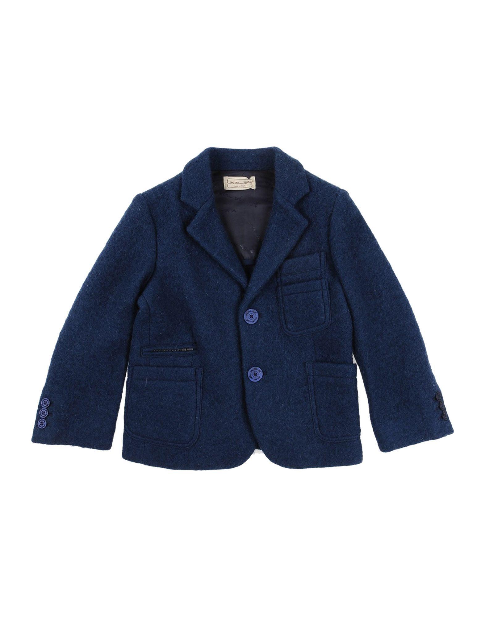 SUITS AND JACKETS Mimisol Dark blue Boy Wool
