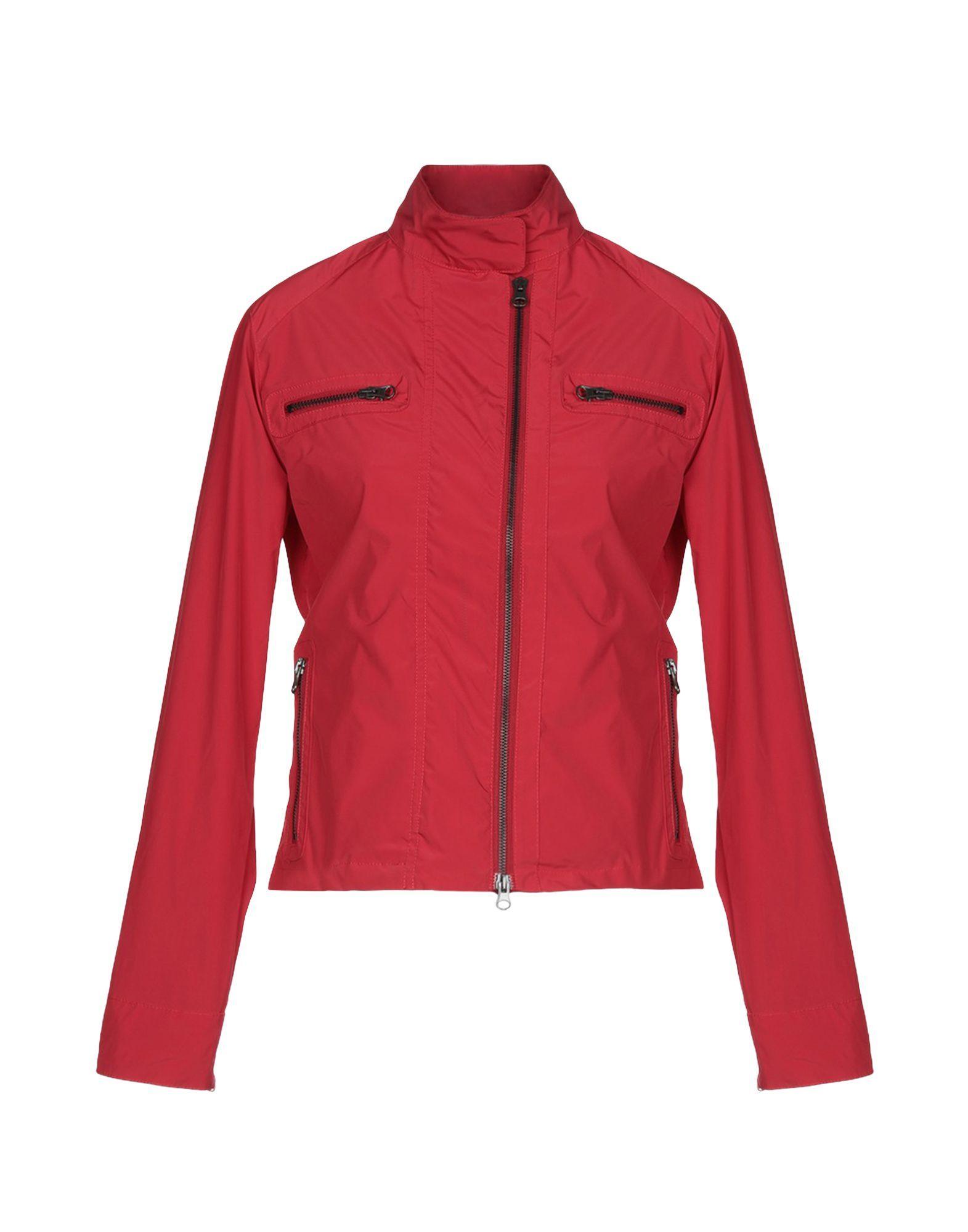 Aspesi Red Techno Fabric Jacket