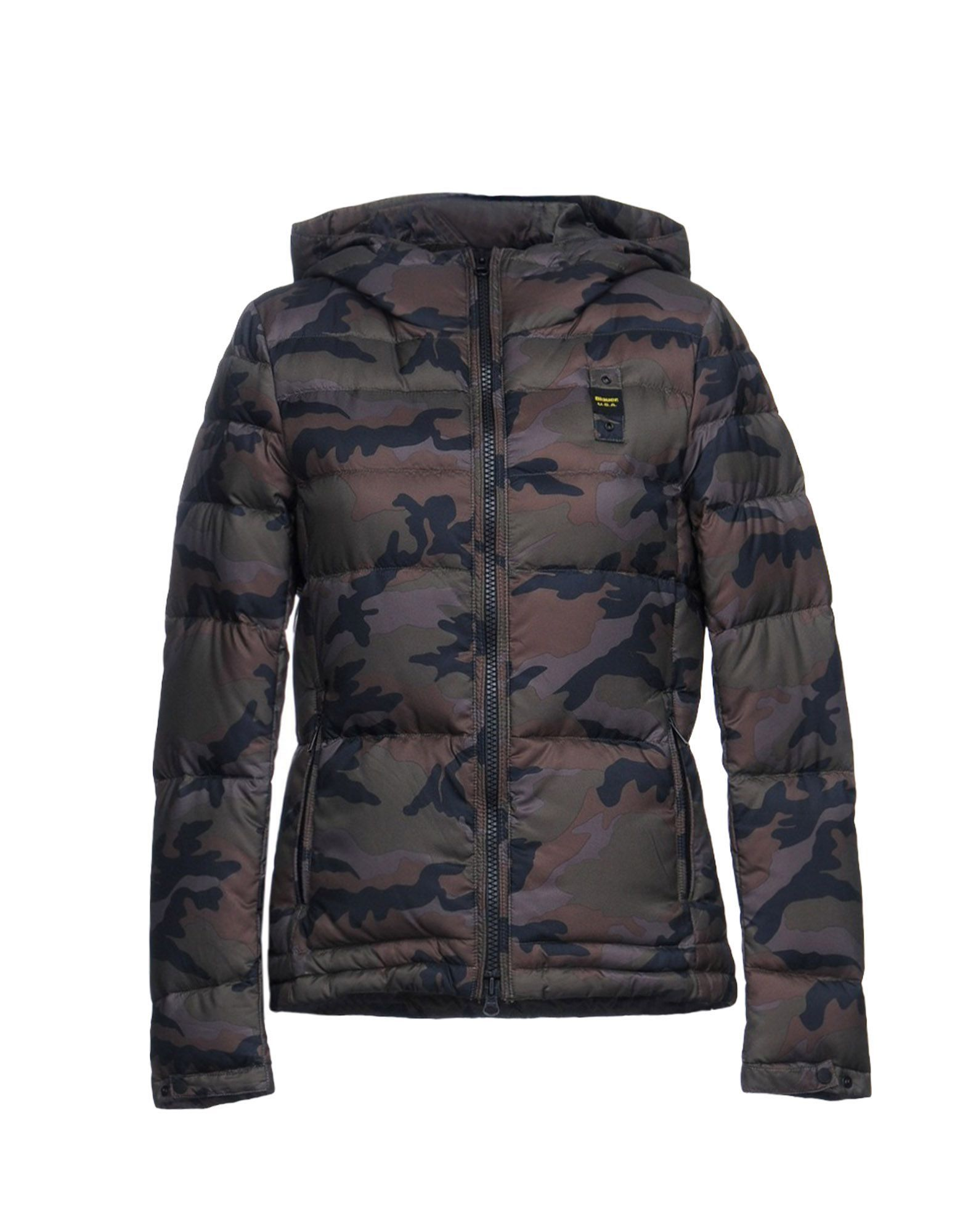 Coat & Jackets Blauer Military Green Women's Polyester