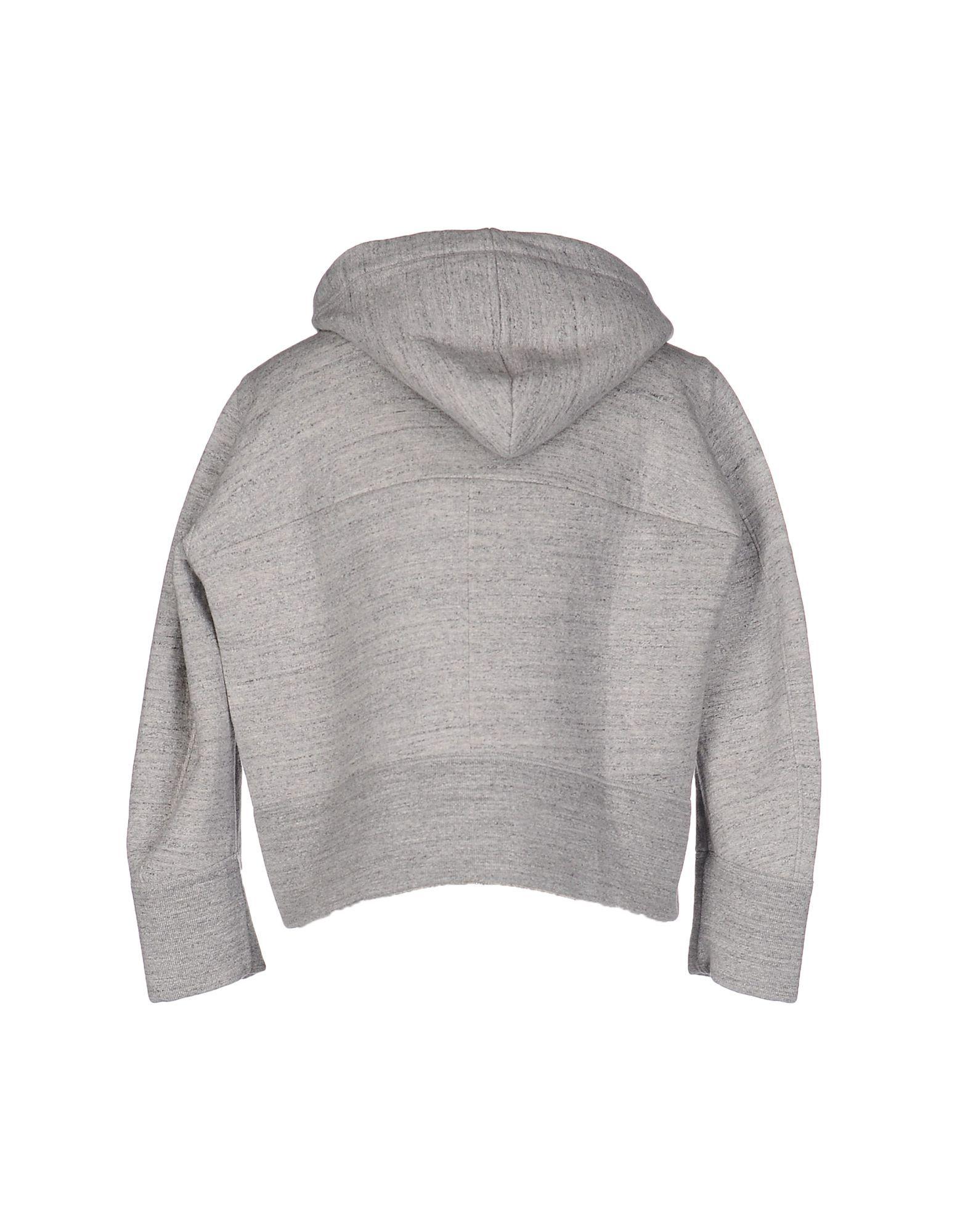 Dsquared2 Grey Cotton Melange Zip Front Hoodie