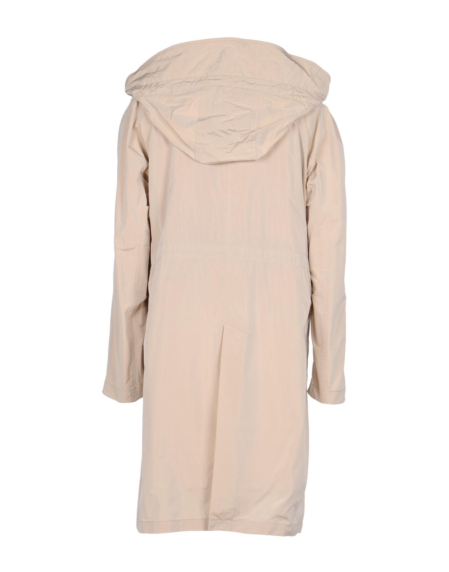 COATS & JACKETS Moorer Beige Woman Polyester