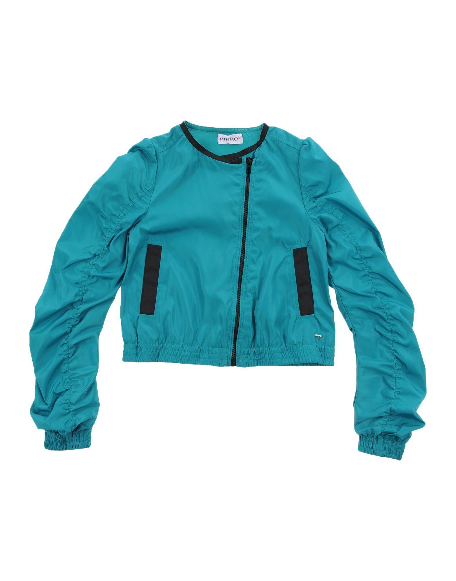 COATS & JACKETS Pinko Up Green Girl Polyester