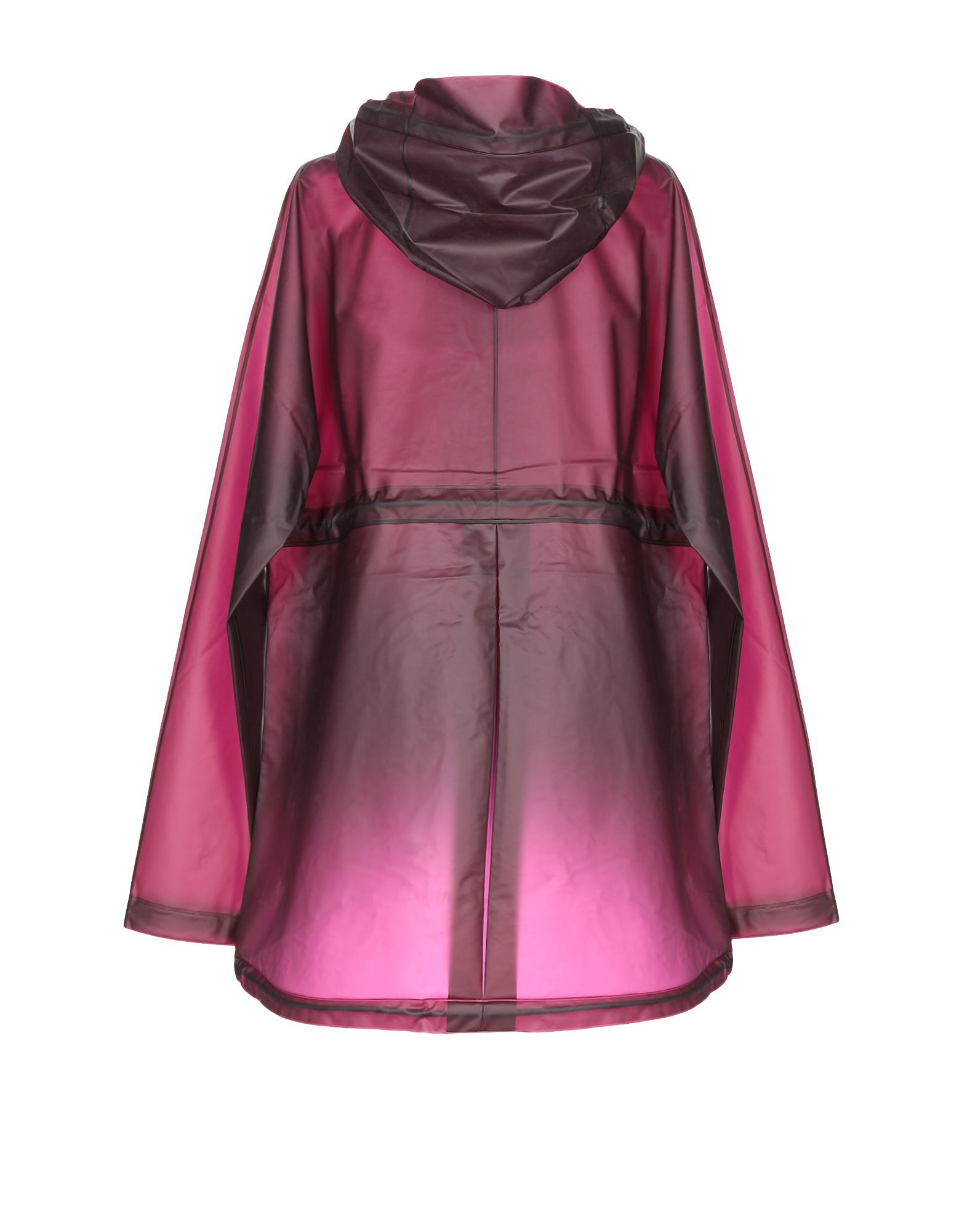 Hunter Maroon Techno Fabric Raincoat