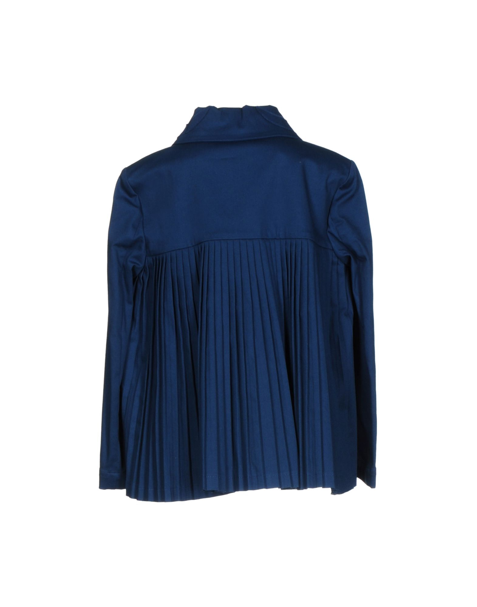 L' Autre Chose Blue Cotton Jacket