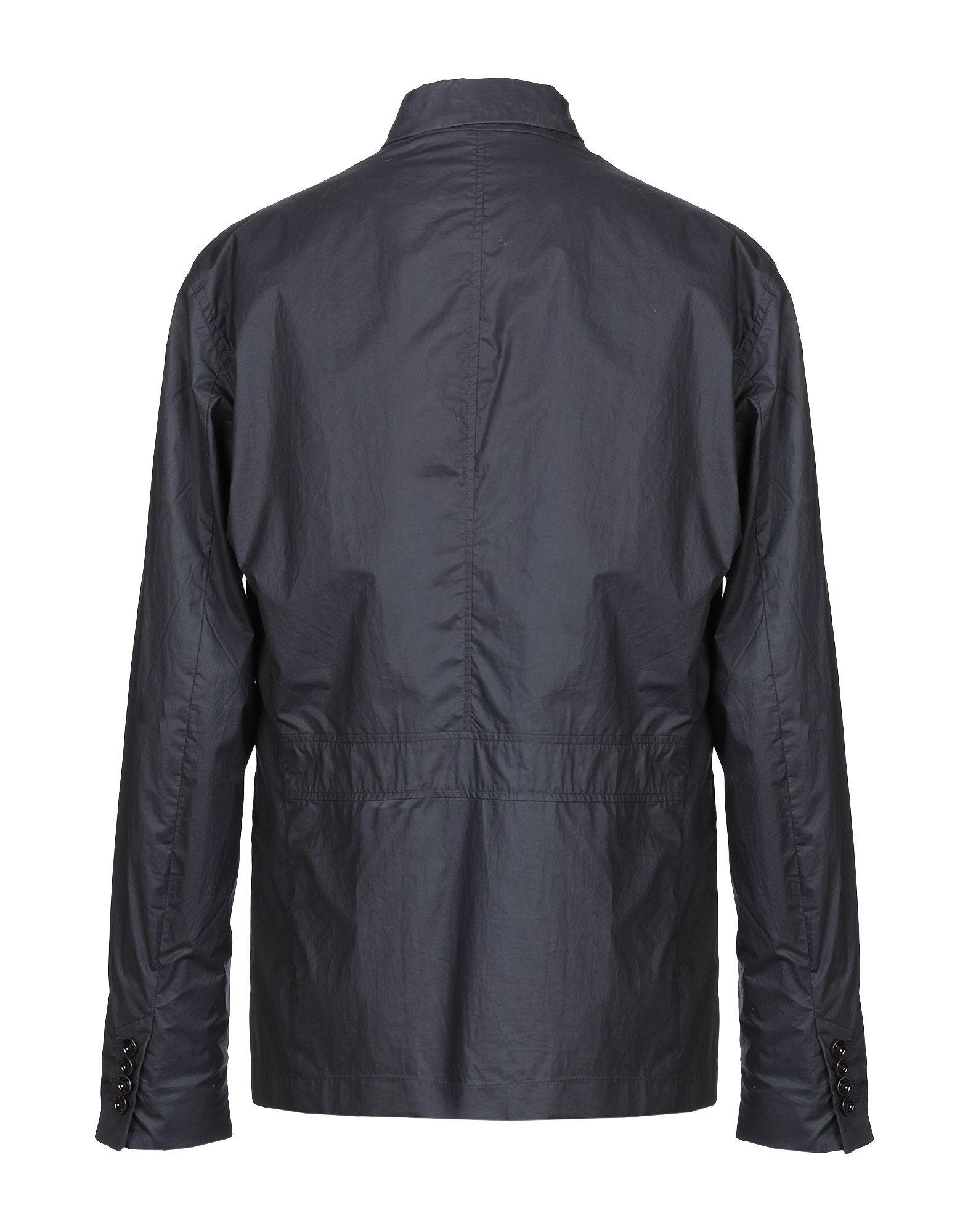 Geospirit Dark Blue Men's Cotton Jacket