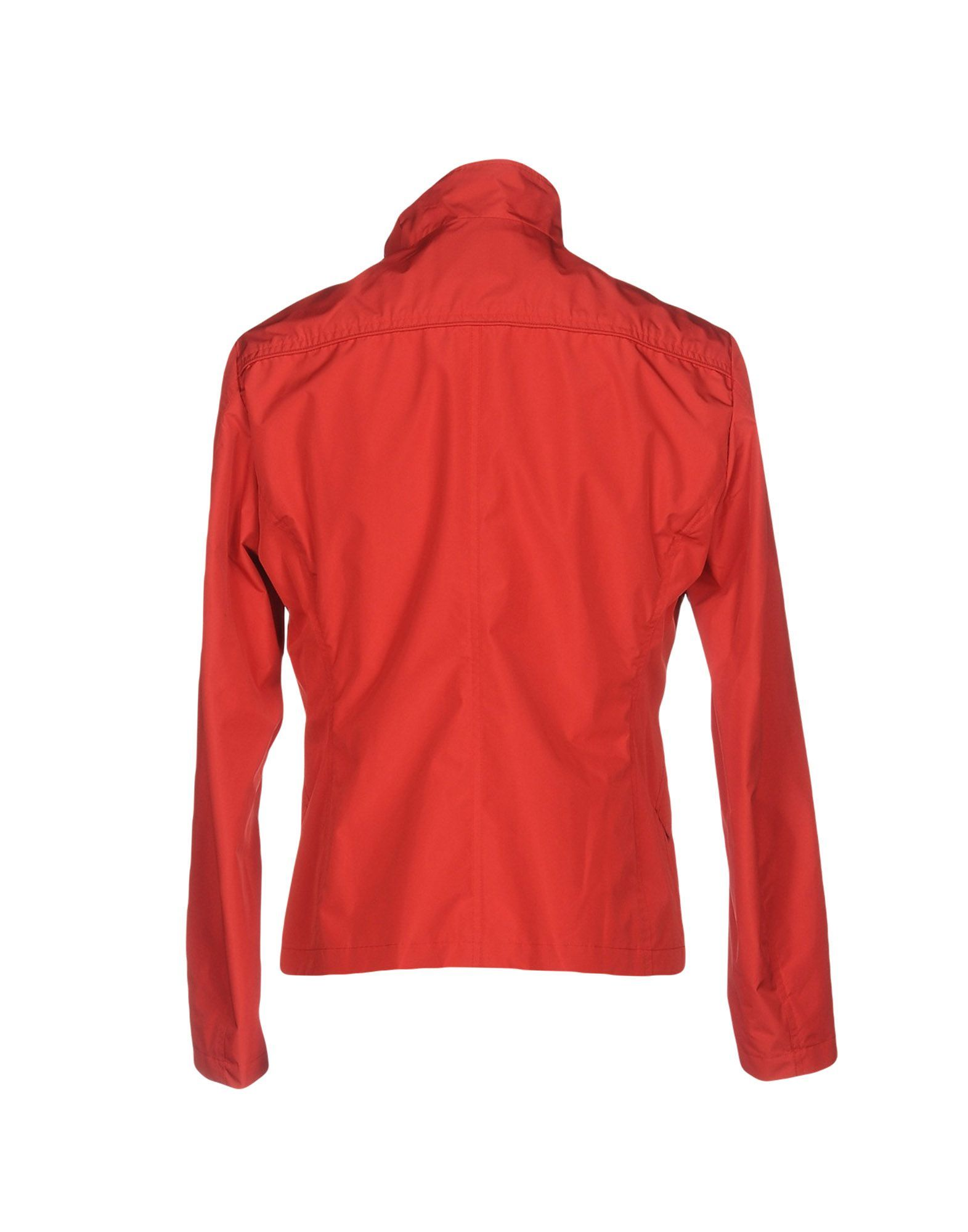 COATS & JACKETS Up To Be Red Man Polyester