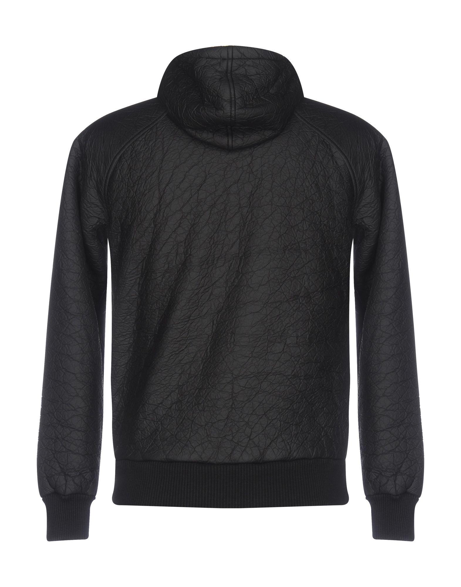 Gas Black Techno Fabric Jacket