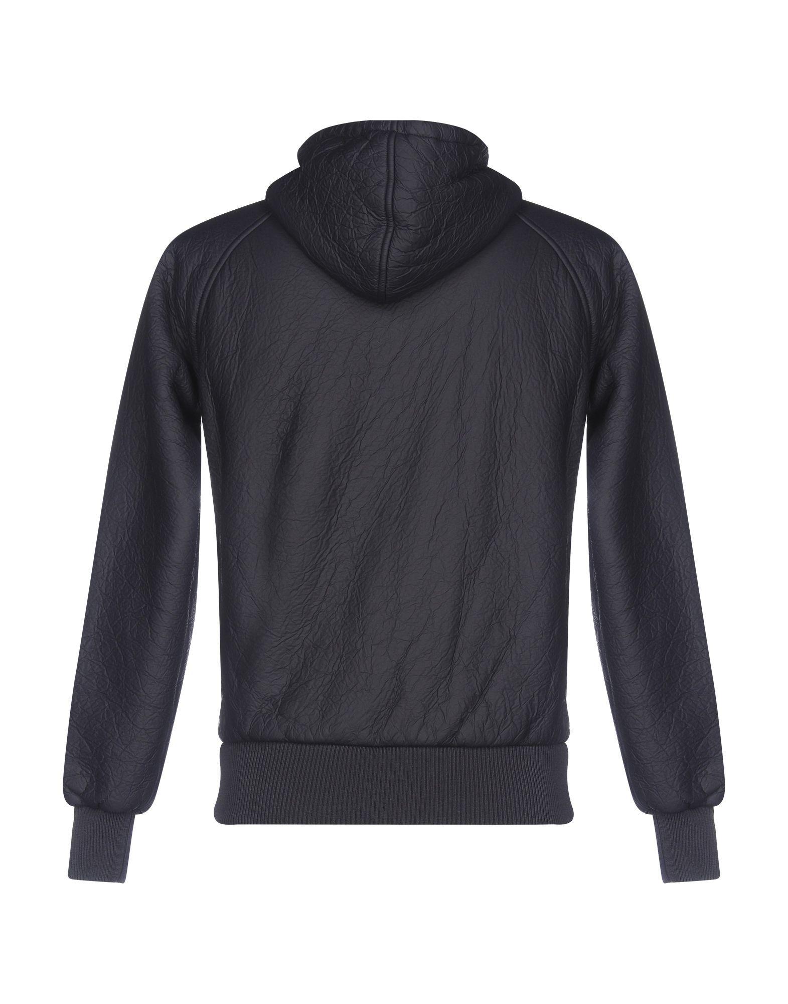 Gas Dark Blue Techno Fabric Jacket