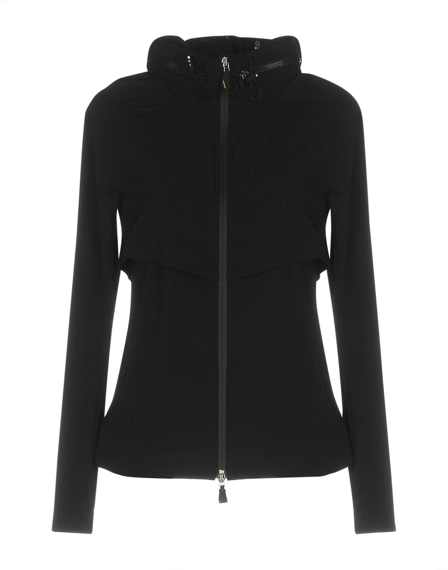 Sapopa Black Techno Fabric Jacket