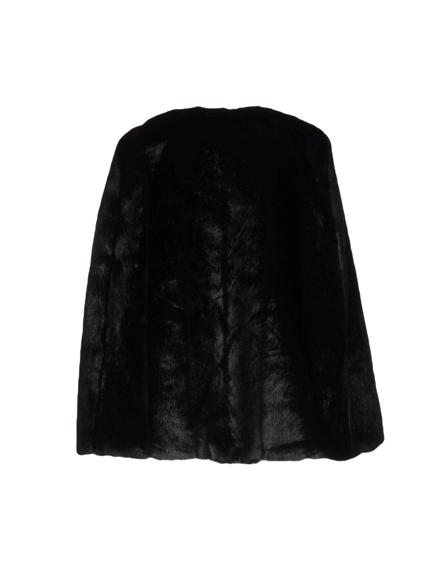 Coat & Jackets Michael Michael Kors Black Women's Modacrylic