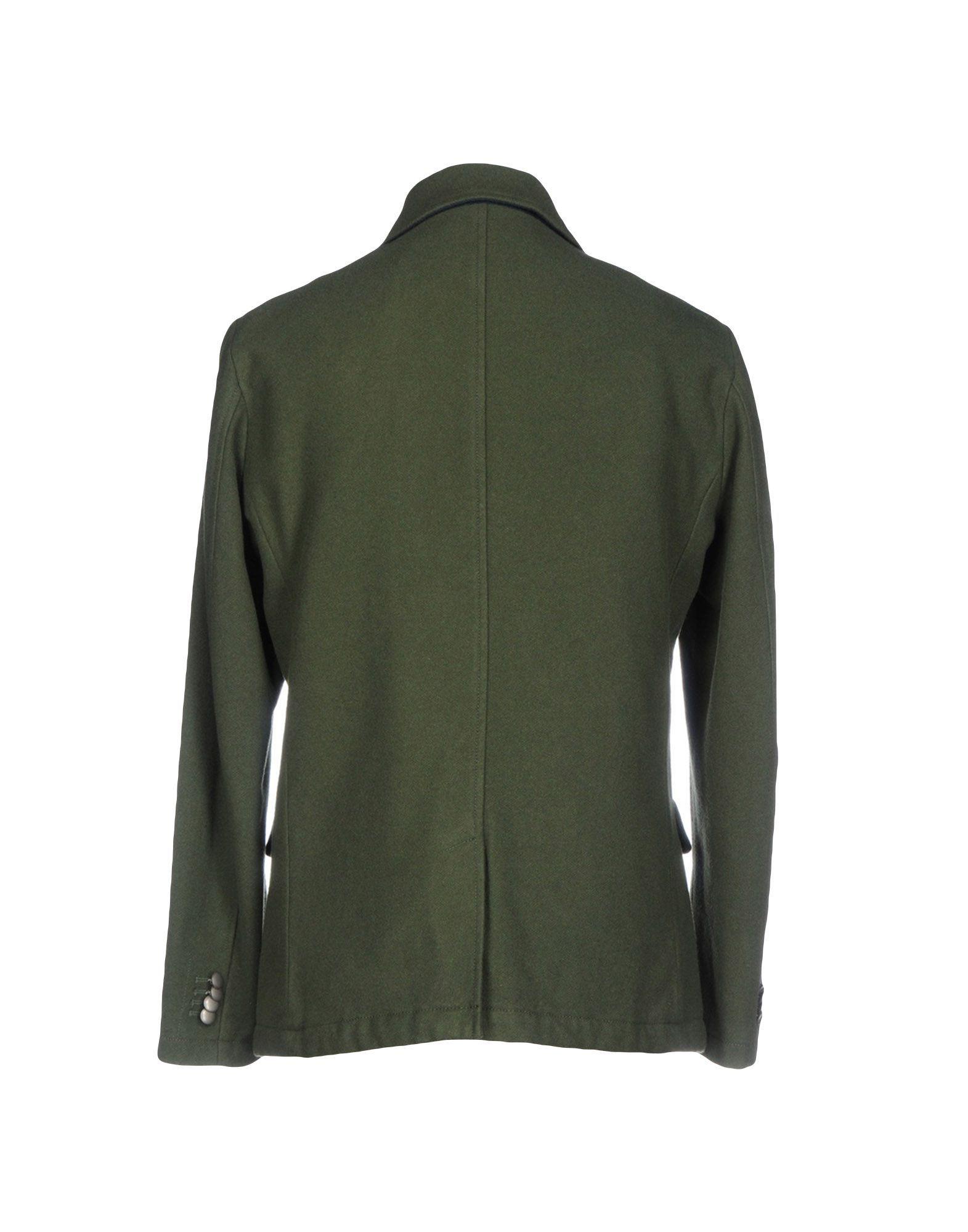 COATS & JACKETS At.P.Co Military green Man Wool