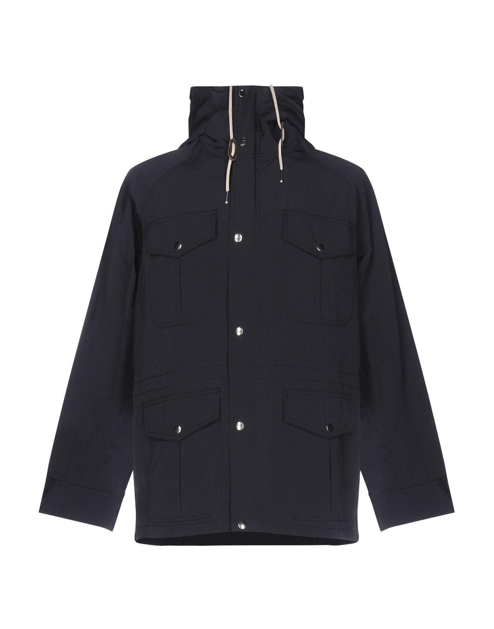 Soulland Dark Blue Cotton Safari Jacket