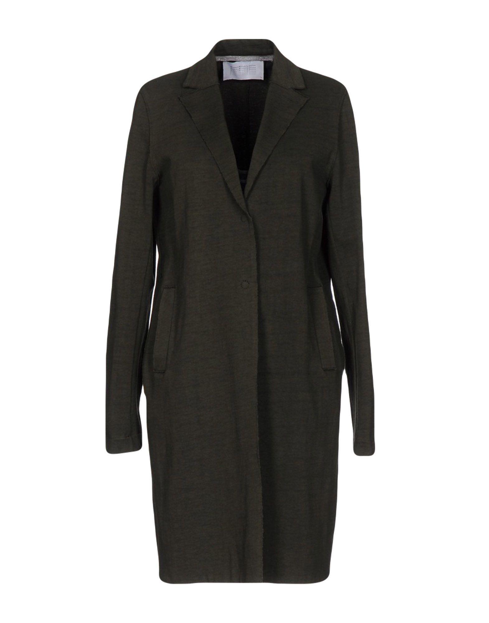 Harris Wharf London Military Green Cotton Coat