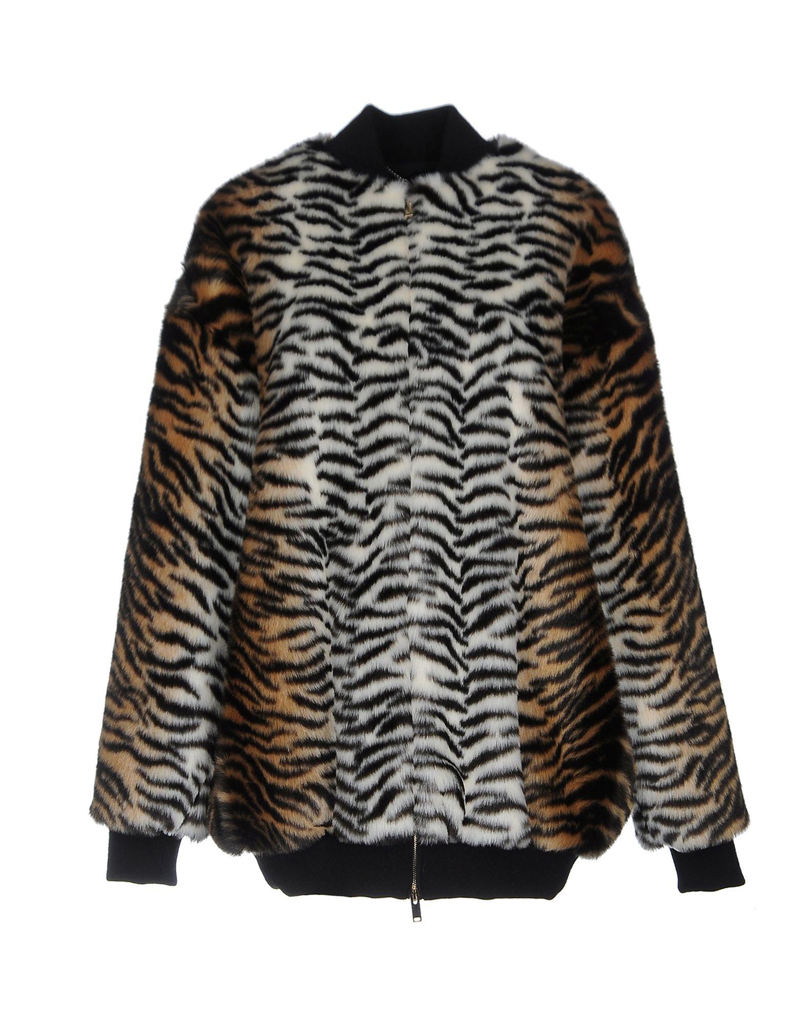Stella McCartney Beige Faux Fur Jacket
