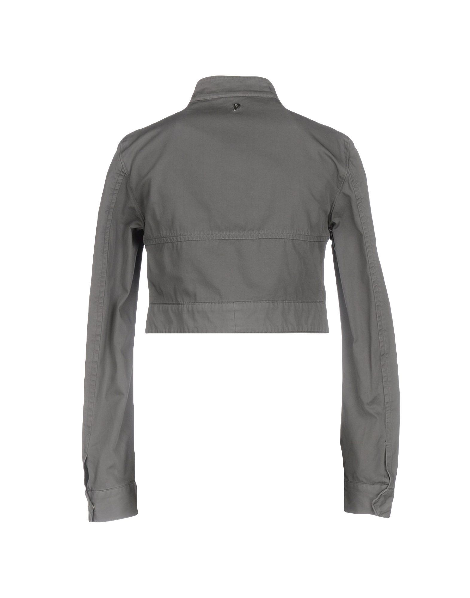 COATS & JACKETS Dondup Grey Woman Cotton