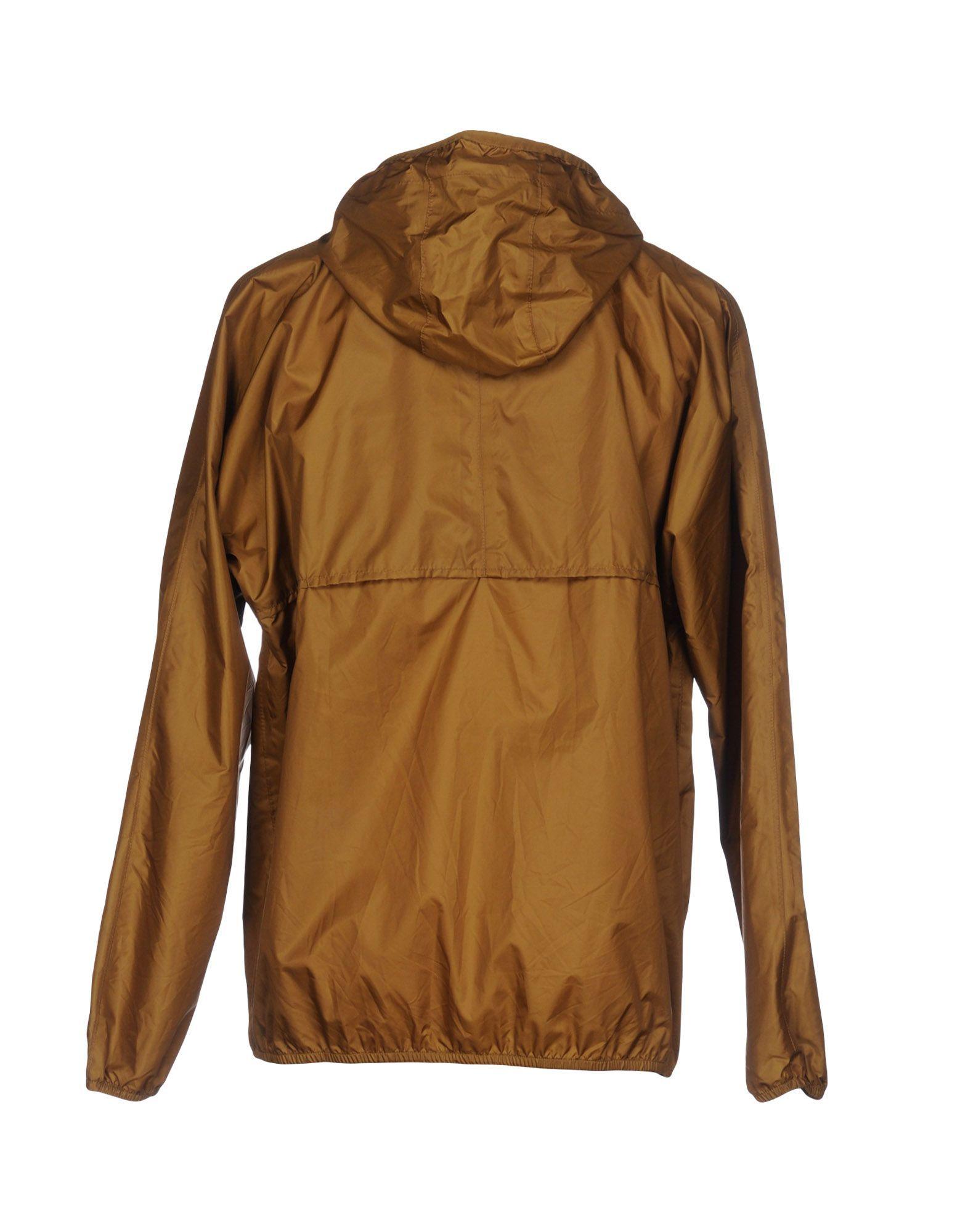 K-Way Khaki Techno Fabric Jacket