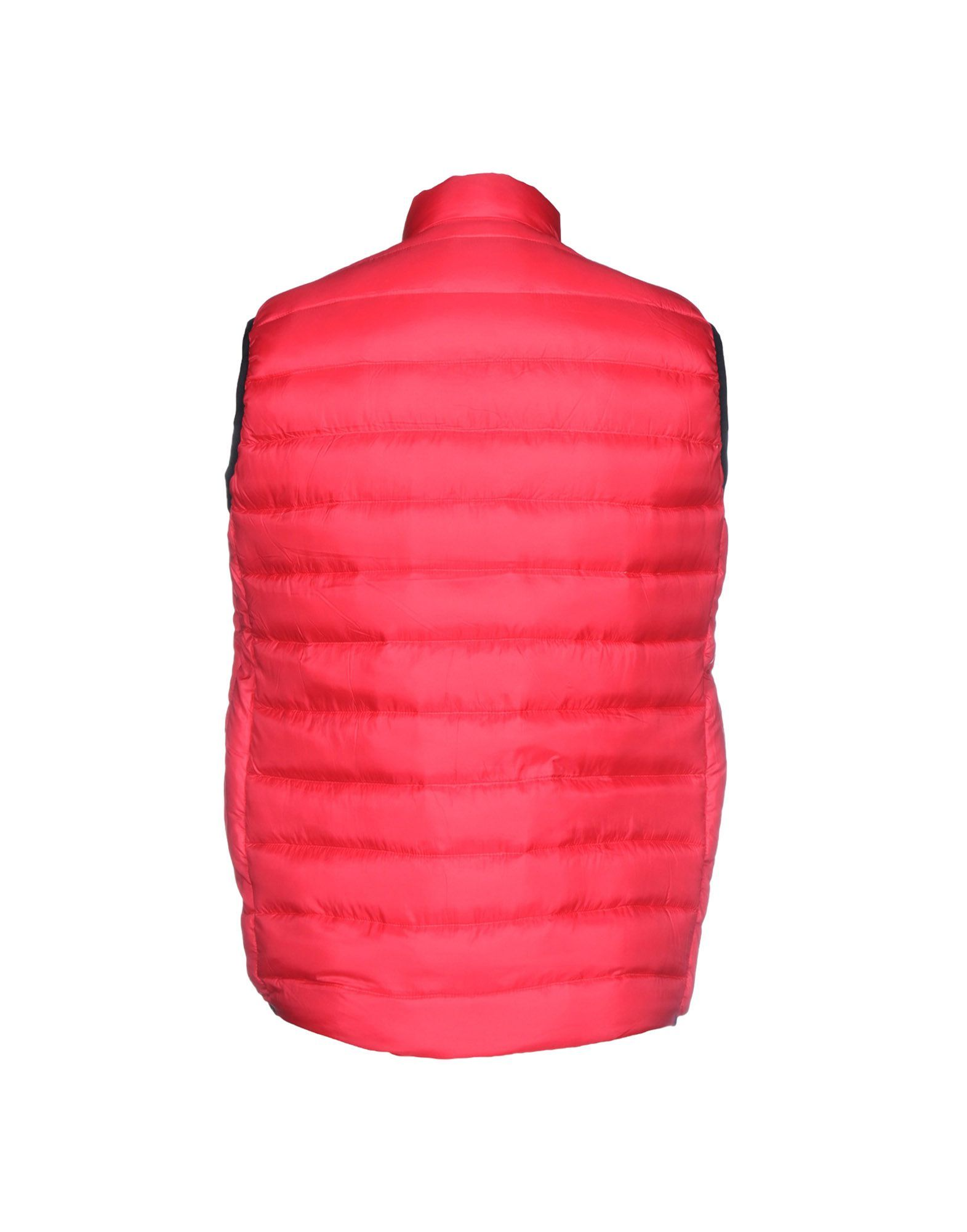 Ps Paul Smith Red Techno Fabric Padded Gilet