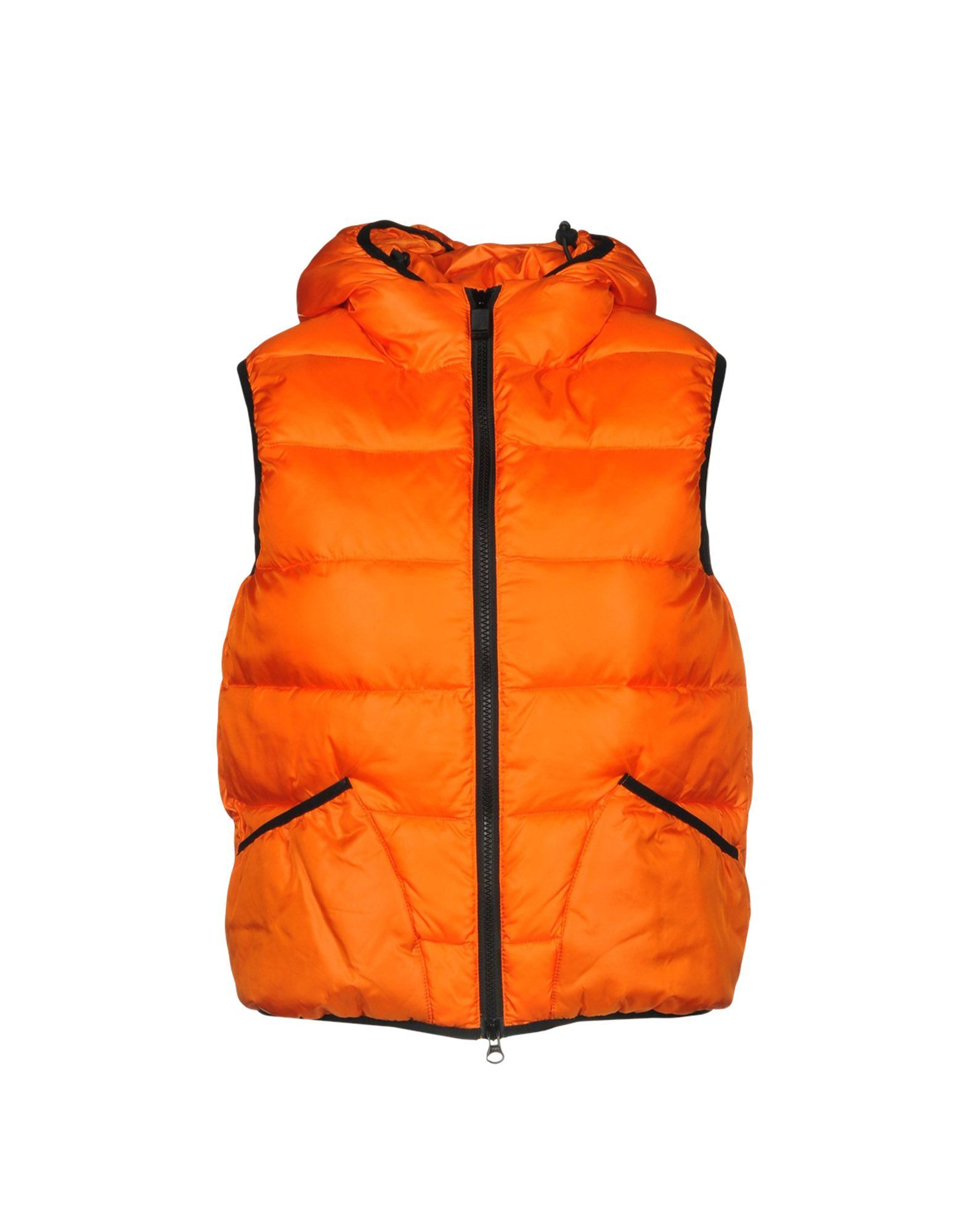 Aspesi Orange Techno Fabric Gilet