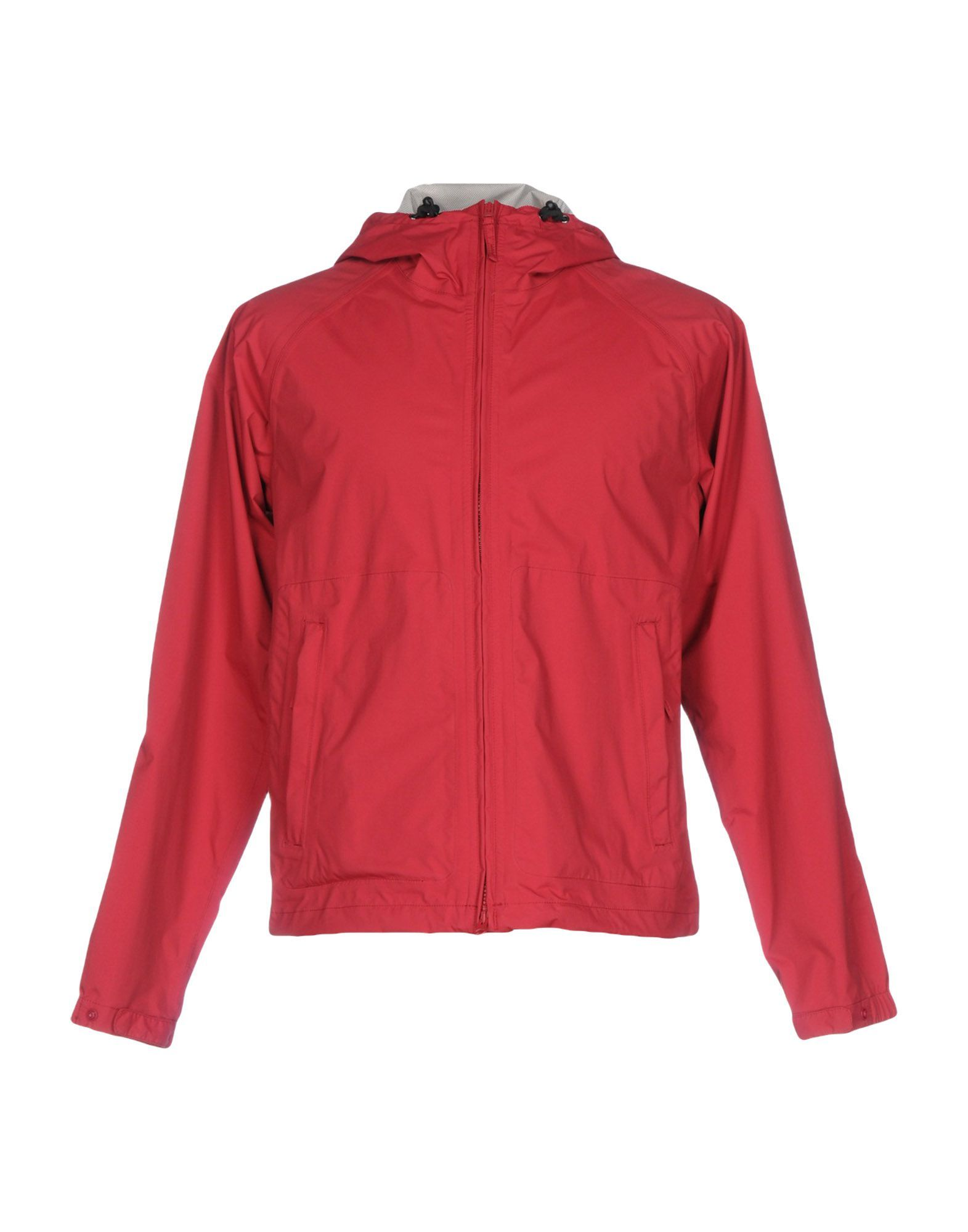 Aspesi Maroon Techno Fabric Jacket