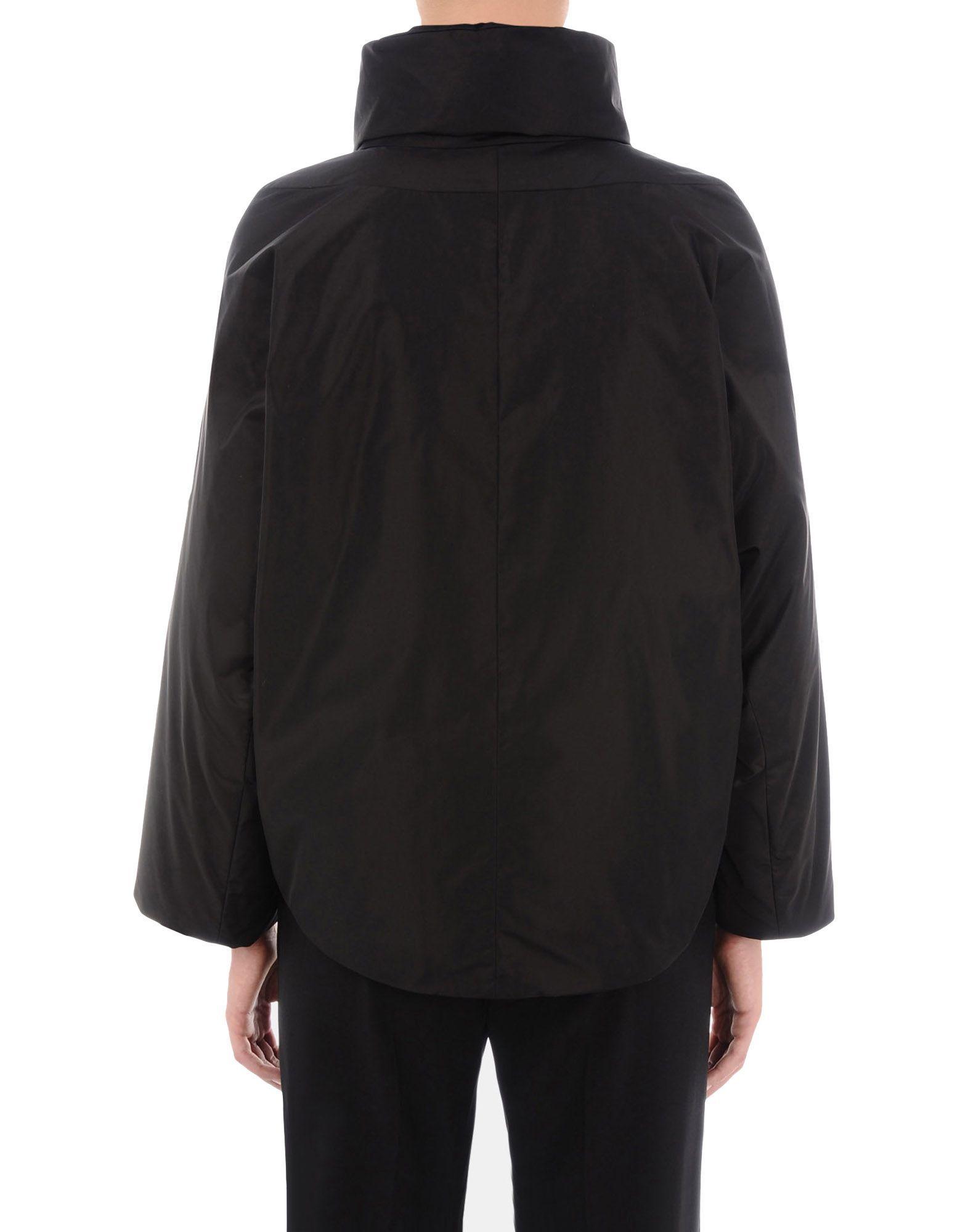 Jil Sander Black Techno Fabric Padded Jacket