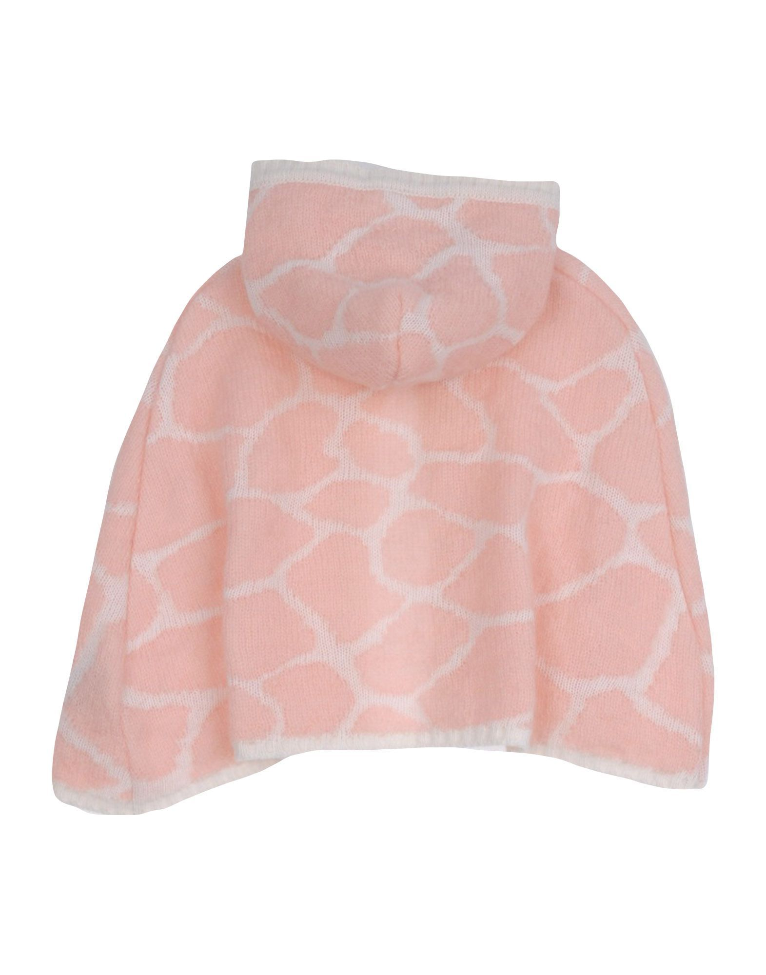COATS & JACKETS Roberto Cavalli Junior Pink Girl Virgin Wool