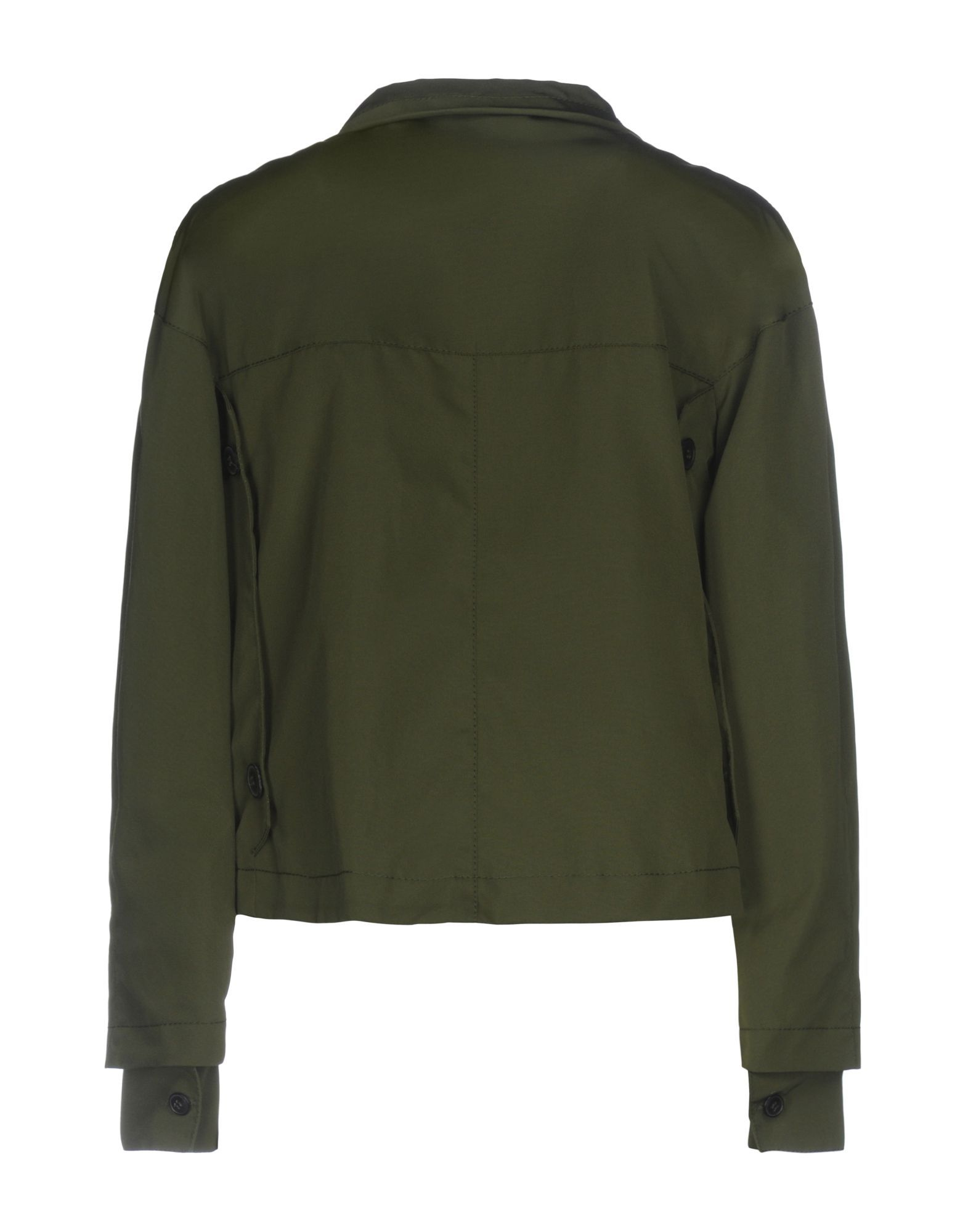 COATS & JACKETS Boule De Neige Military green Woman Polyamid