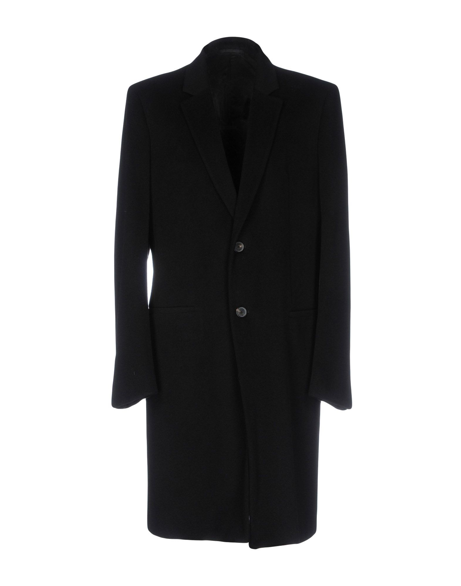 Jil Sander Black Wool Overcoat