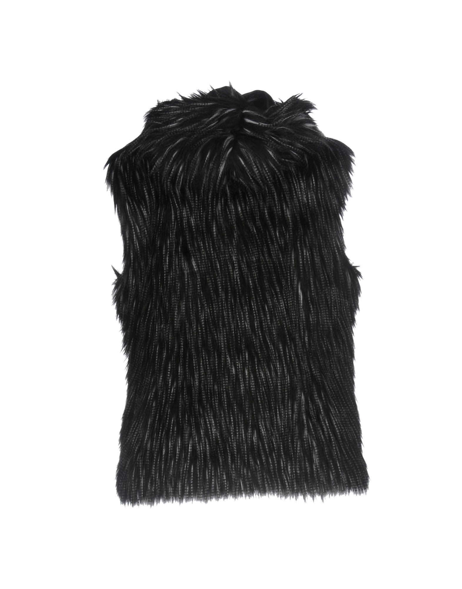 Just For Luck Woman Black Faux furs