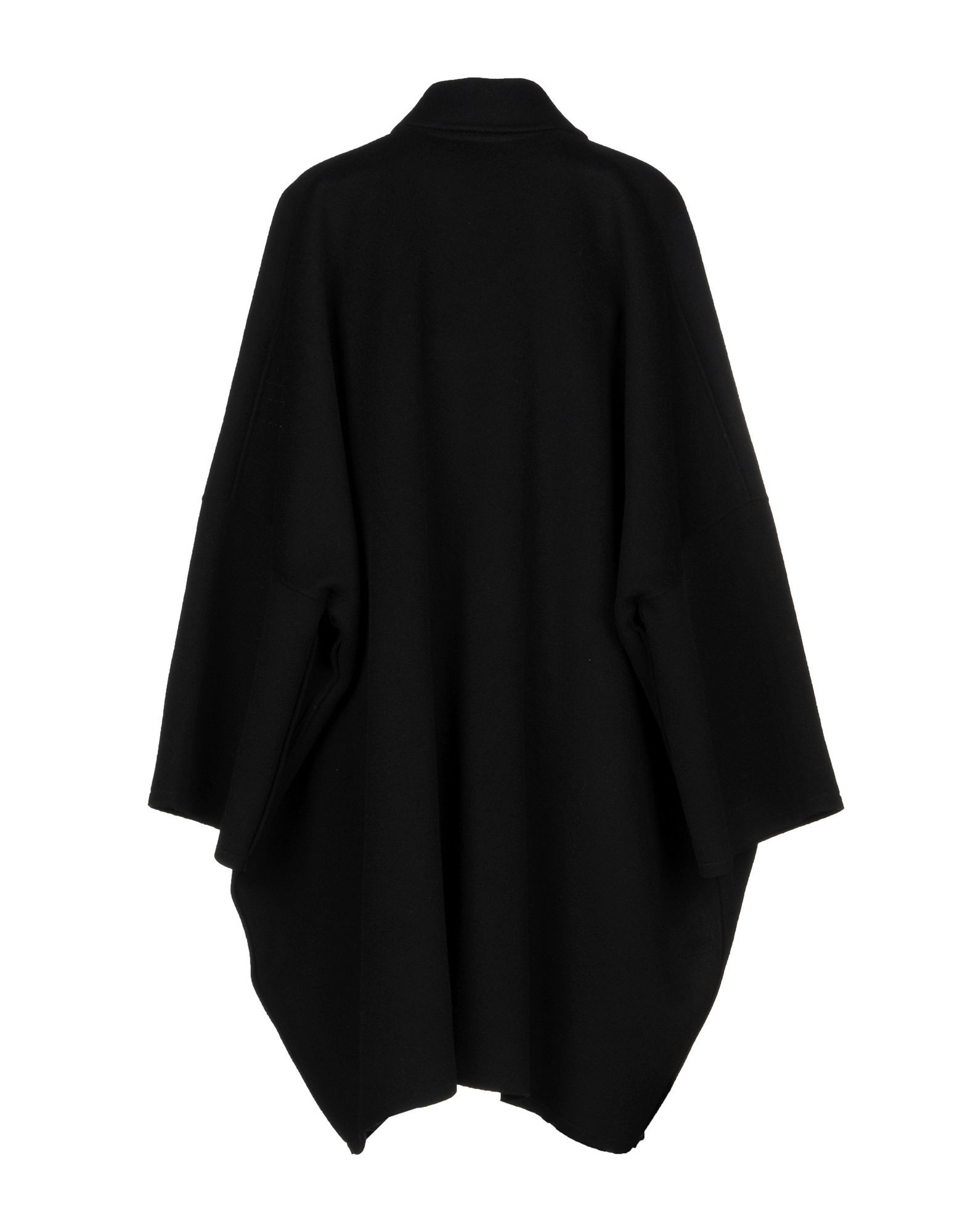 Helmut Lang Black Wool Coat