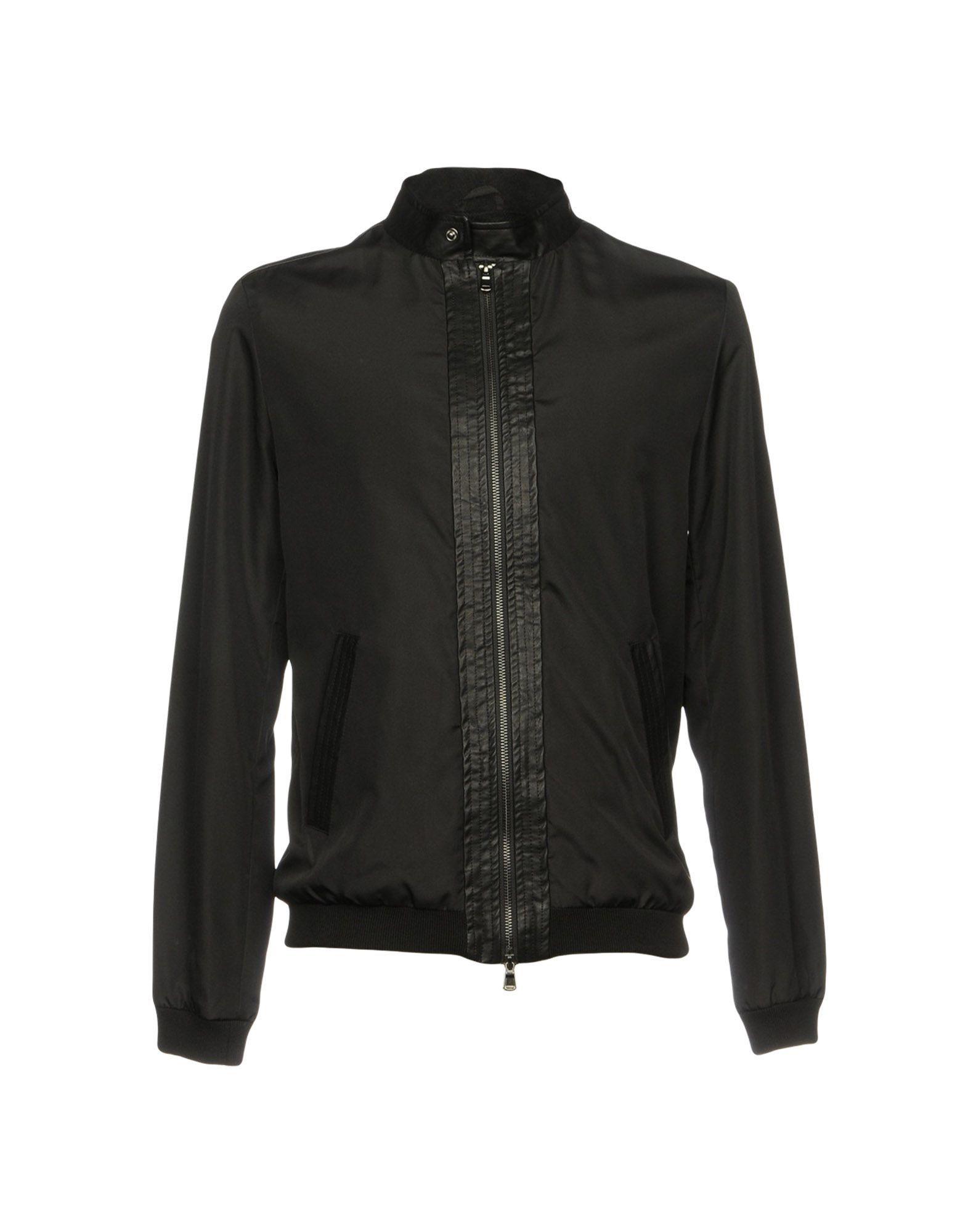Daniele Alessandrini Homme Black Men's Polyester Jacket