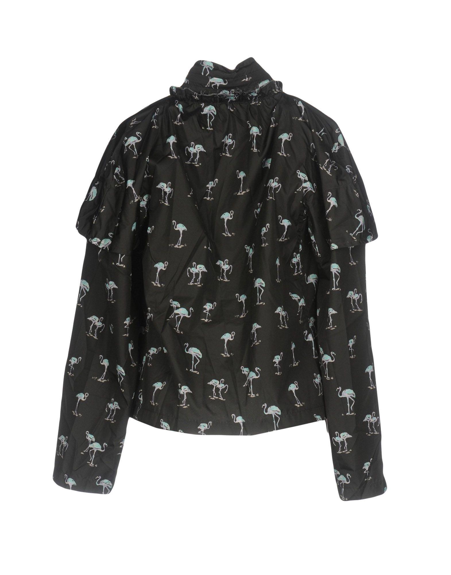 COATS & JACKETS Pinko Uniqueness Black Woman Polyester