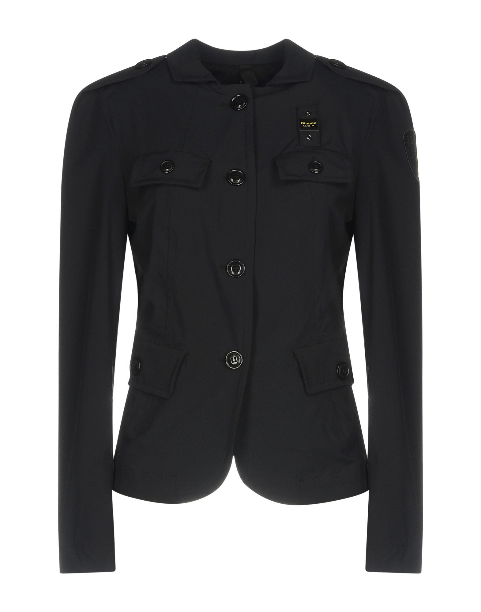 SUITS AND JACKETS Blauer Black Woman Polyamid