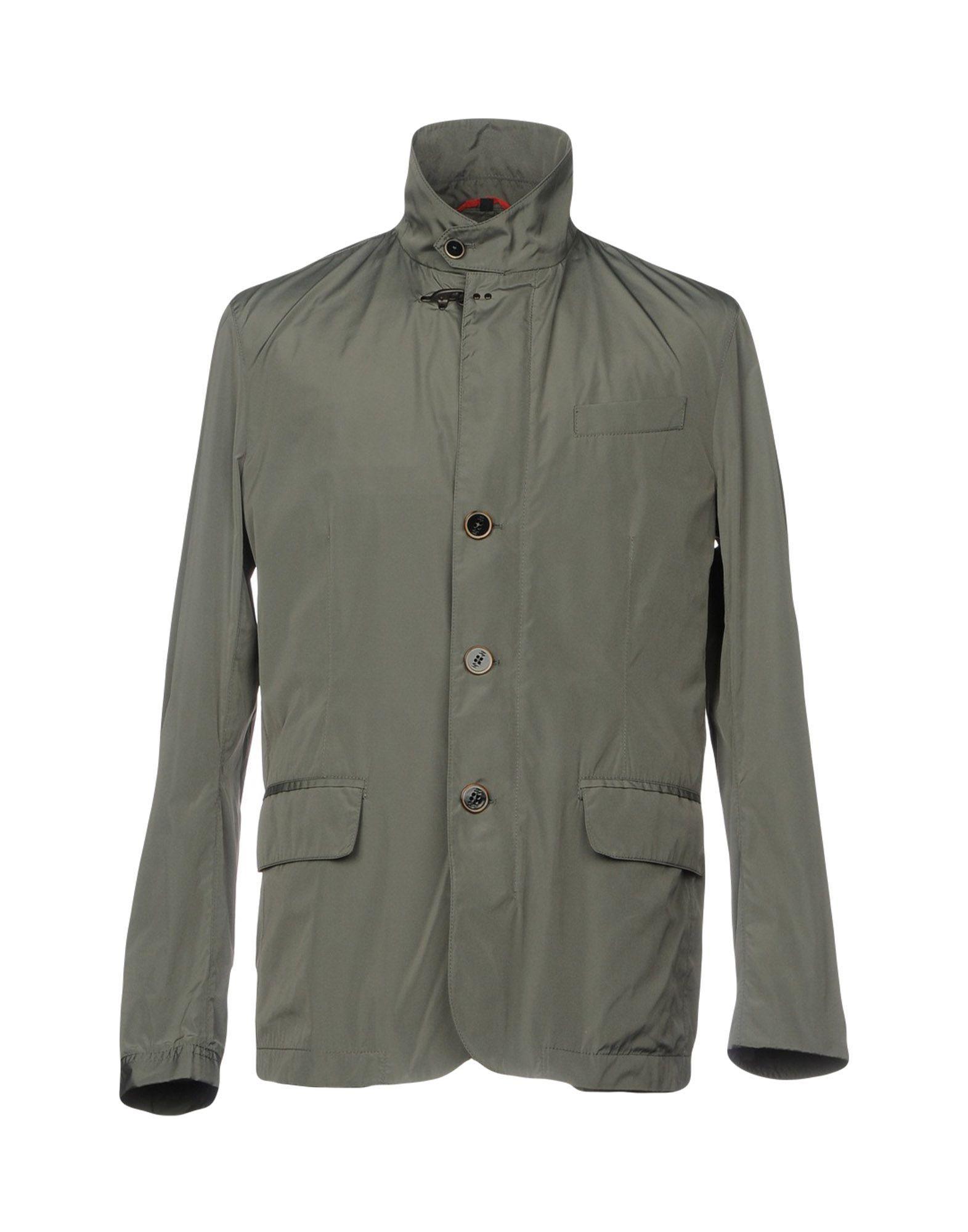 COATS & JACKETS Fay Military green Man Polyester