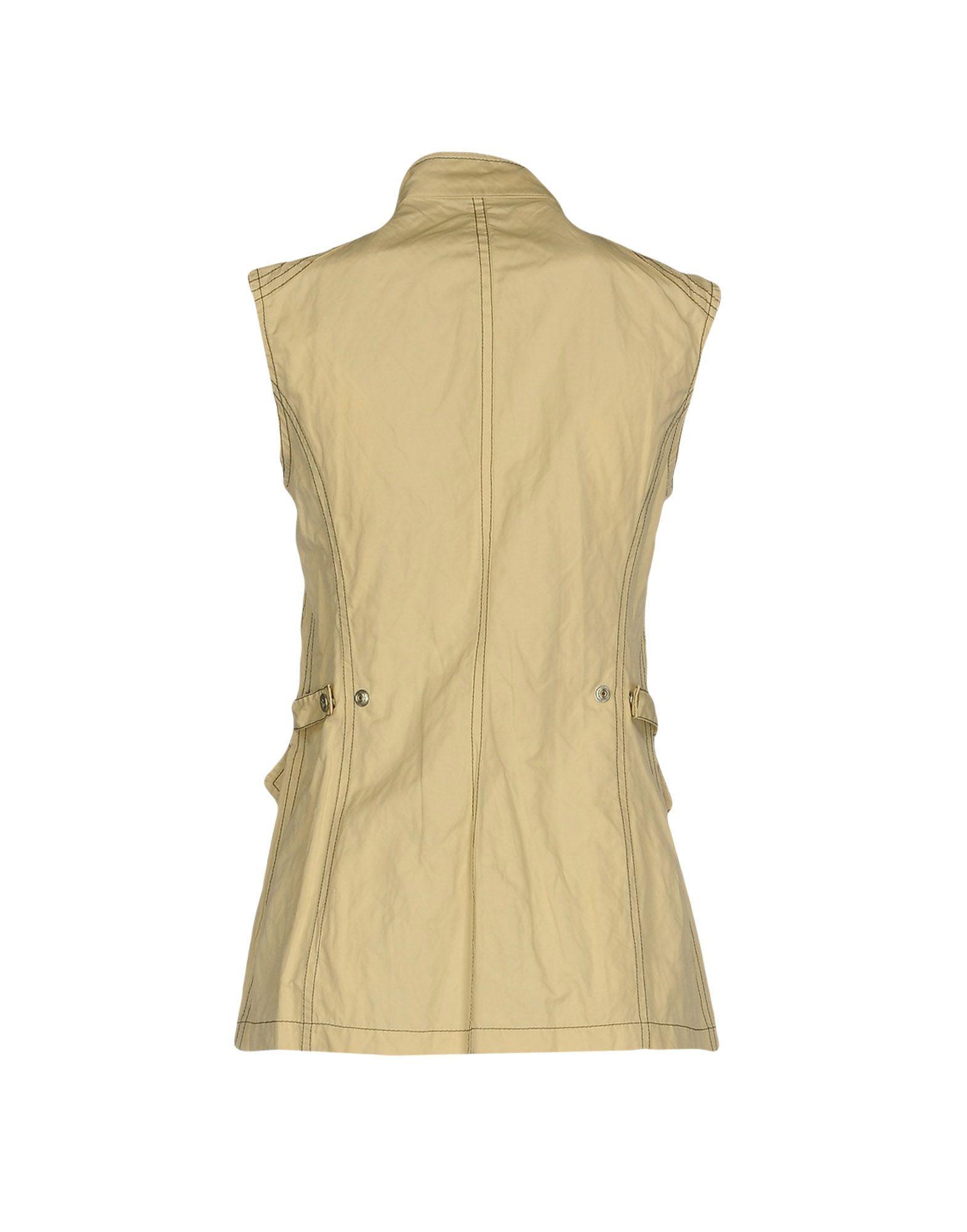 COATS & JACKETS Husky Beige Woman Polyester