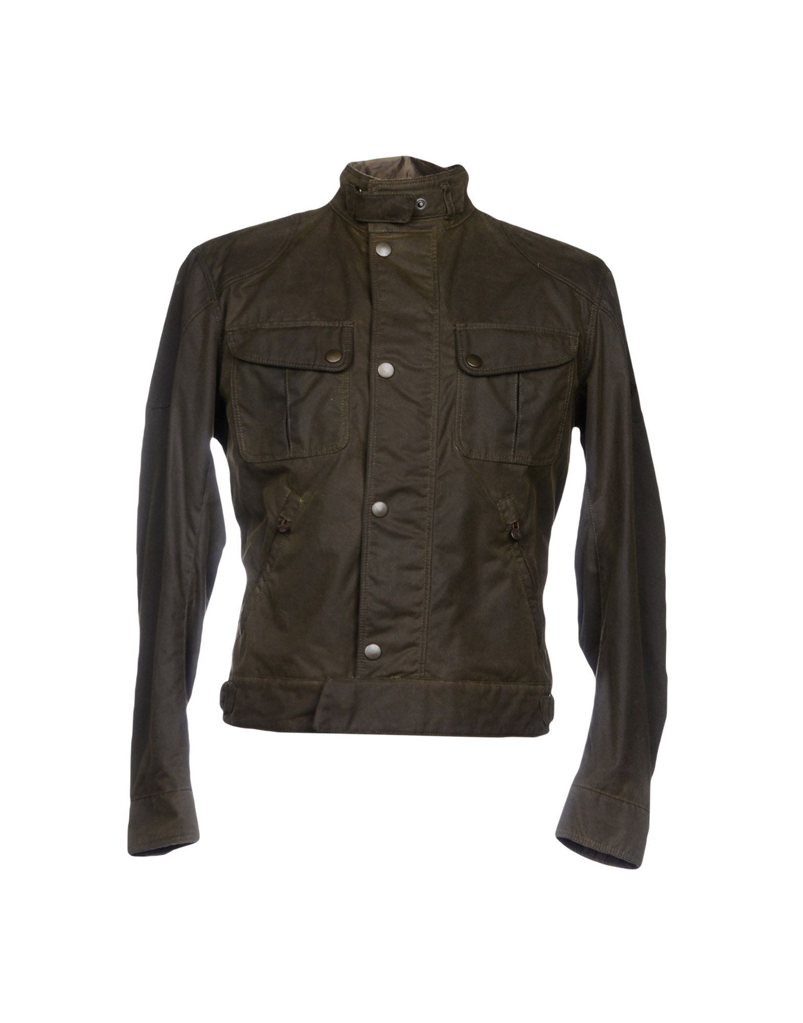COATS & JACKETS Matchless Military green Man Cotton