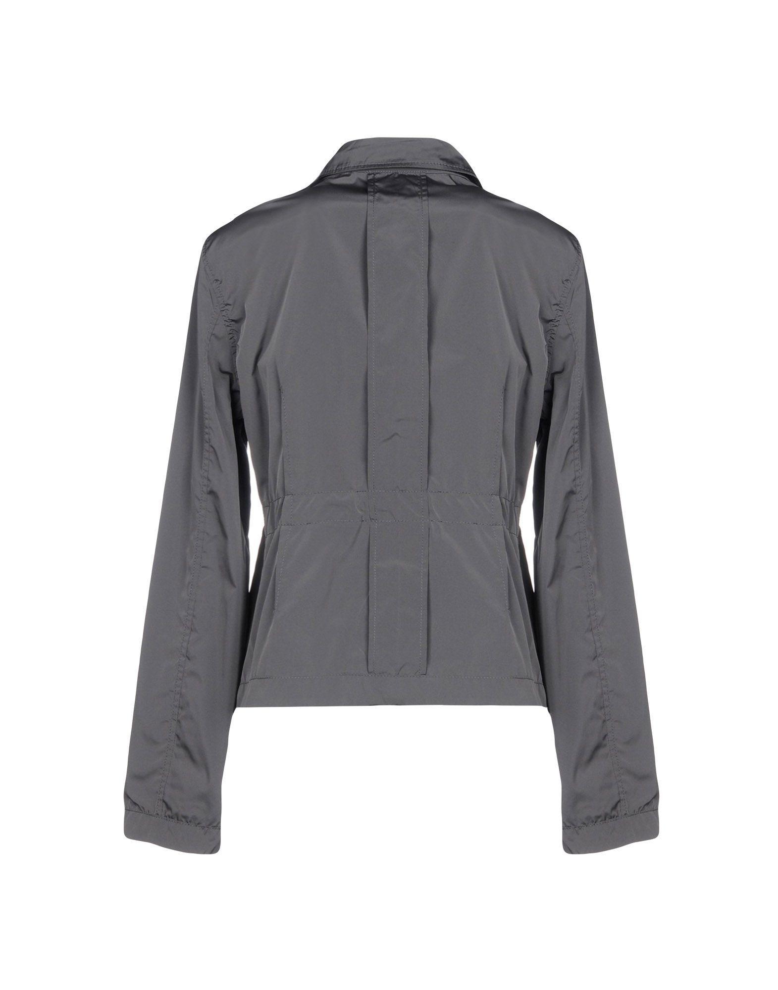 Aspesi Grey Techno Fabric Safari Jacket