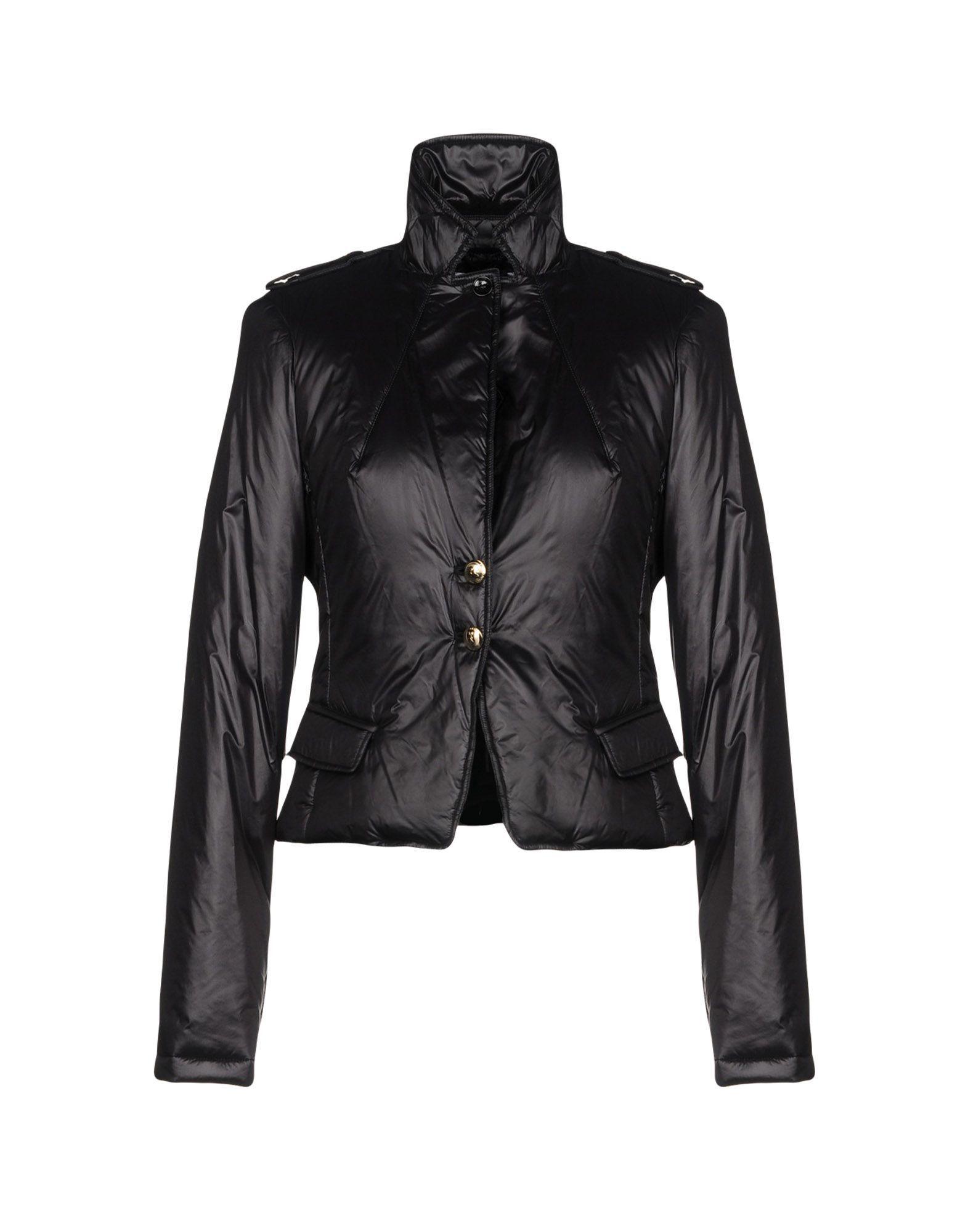 Patrizia Pepe Black Techno Fabric Jacket