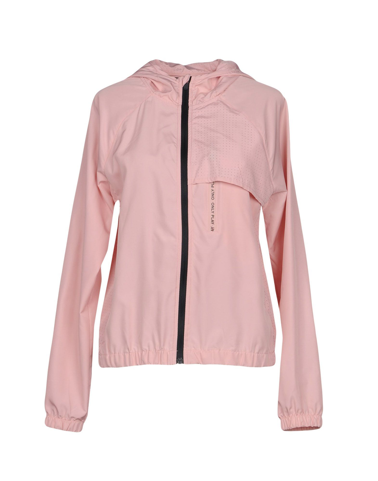 Only Pink Techno Fabric Jacket